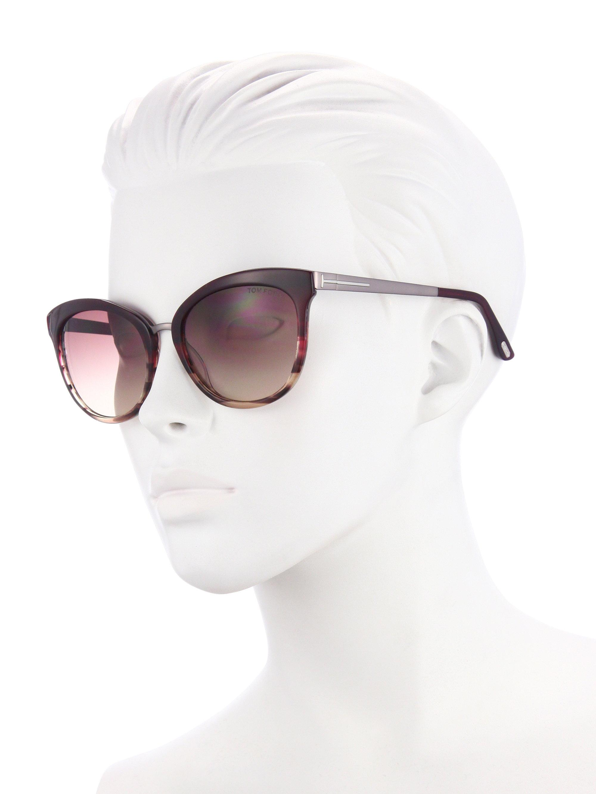 89b0202786 Gallery. Previously sold at  Saks Fifth Avenue · Women s Tom Ford Cat Eye