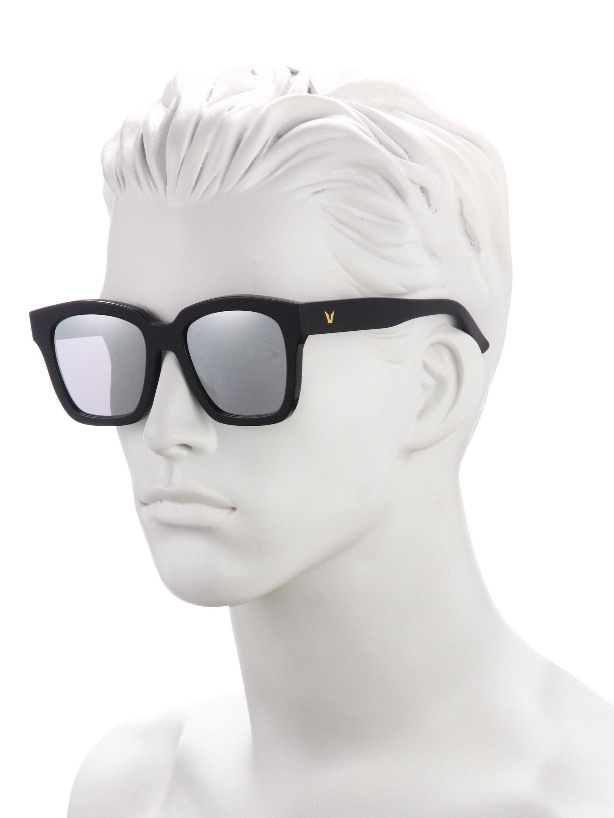 d918010b24 Lyst - Gentle Monster The Dreamer 53mm Mirrored Sunglasses in Gray ...
