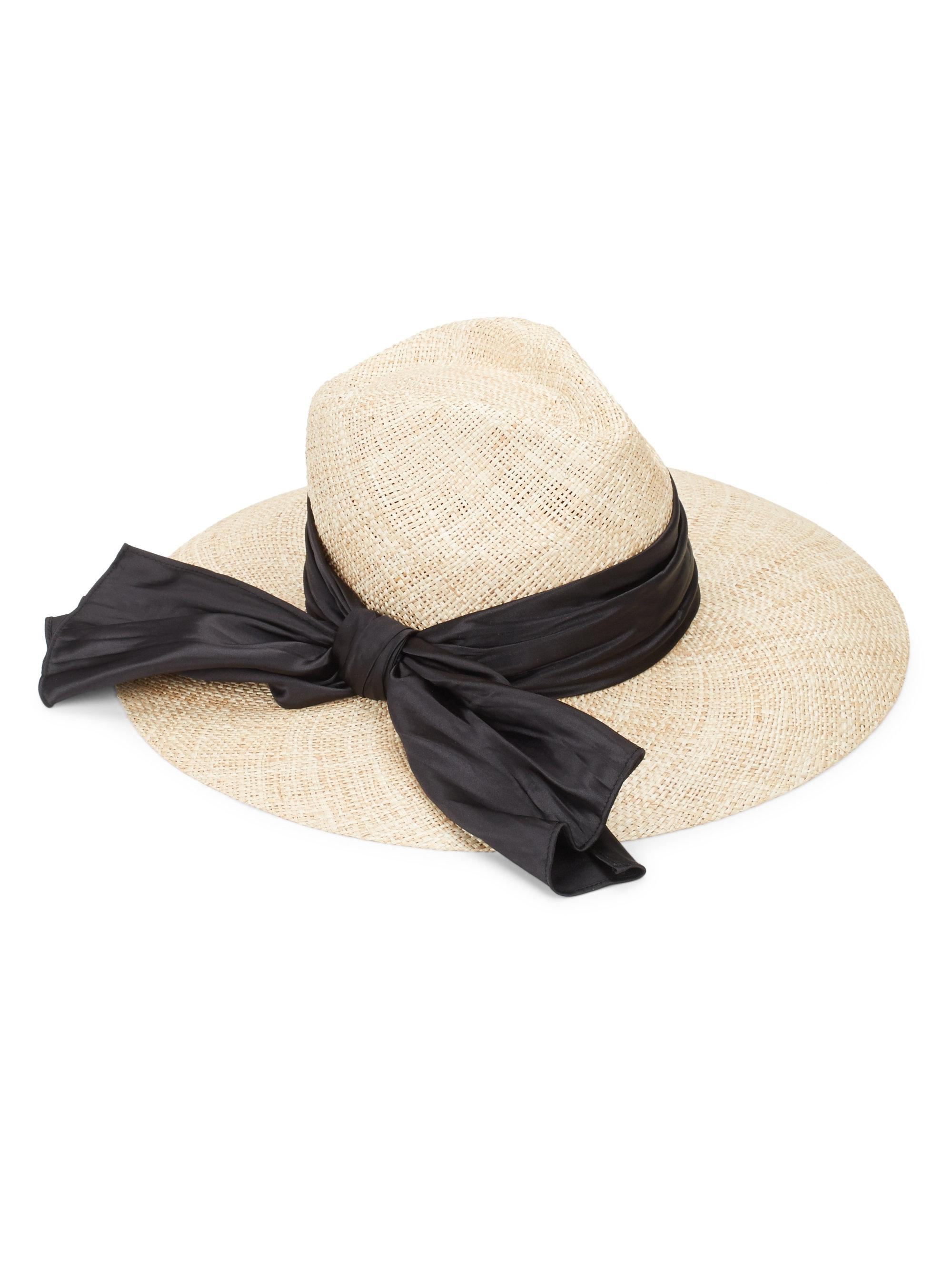 36300e6f65fe7 Eugenia Kim Emmanuelle Undercover Straw Fedora in Natural - Lyst