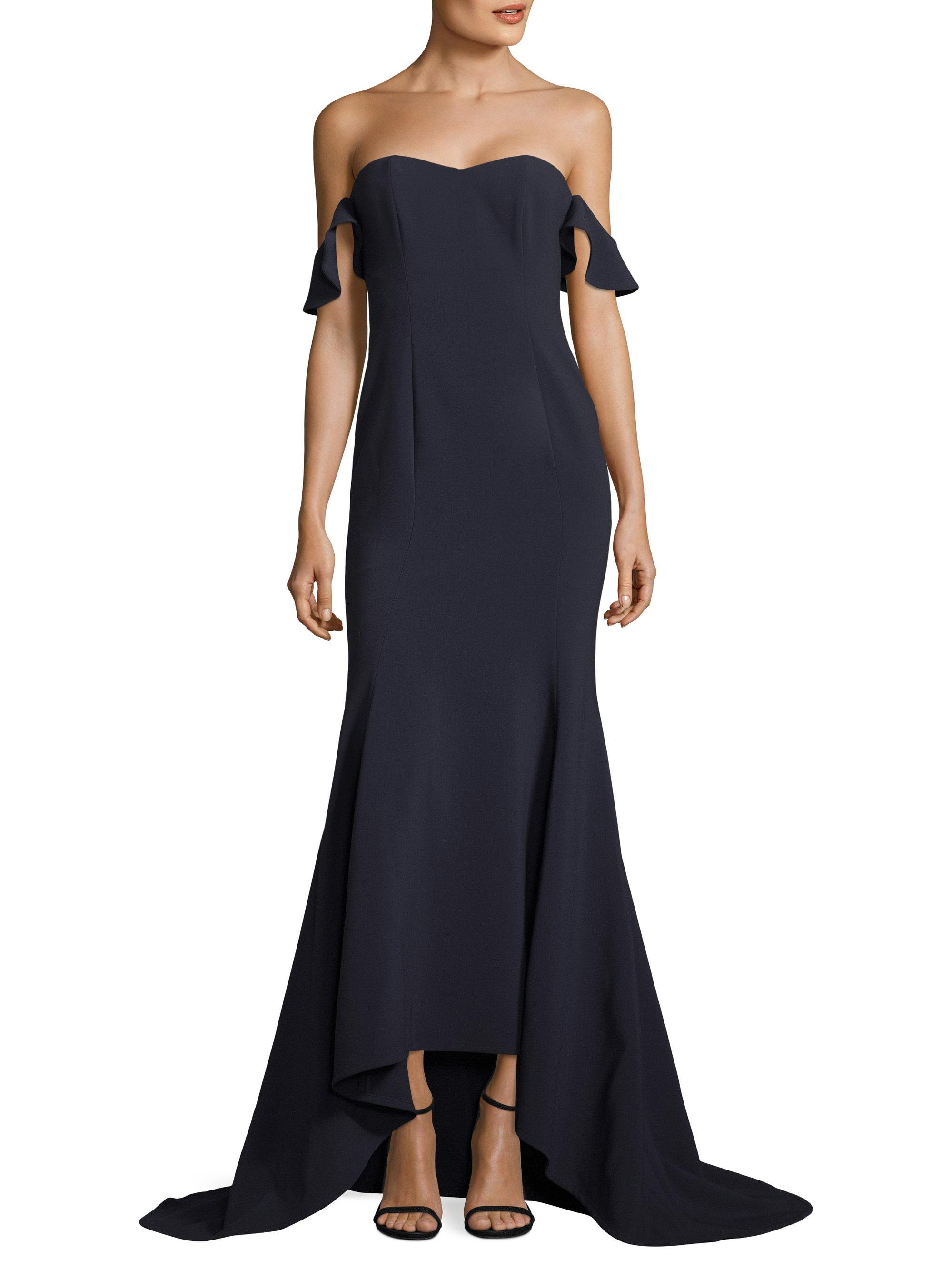 62f27a5a7236 Lyst - Likely Sunset Gown in Black