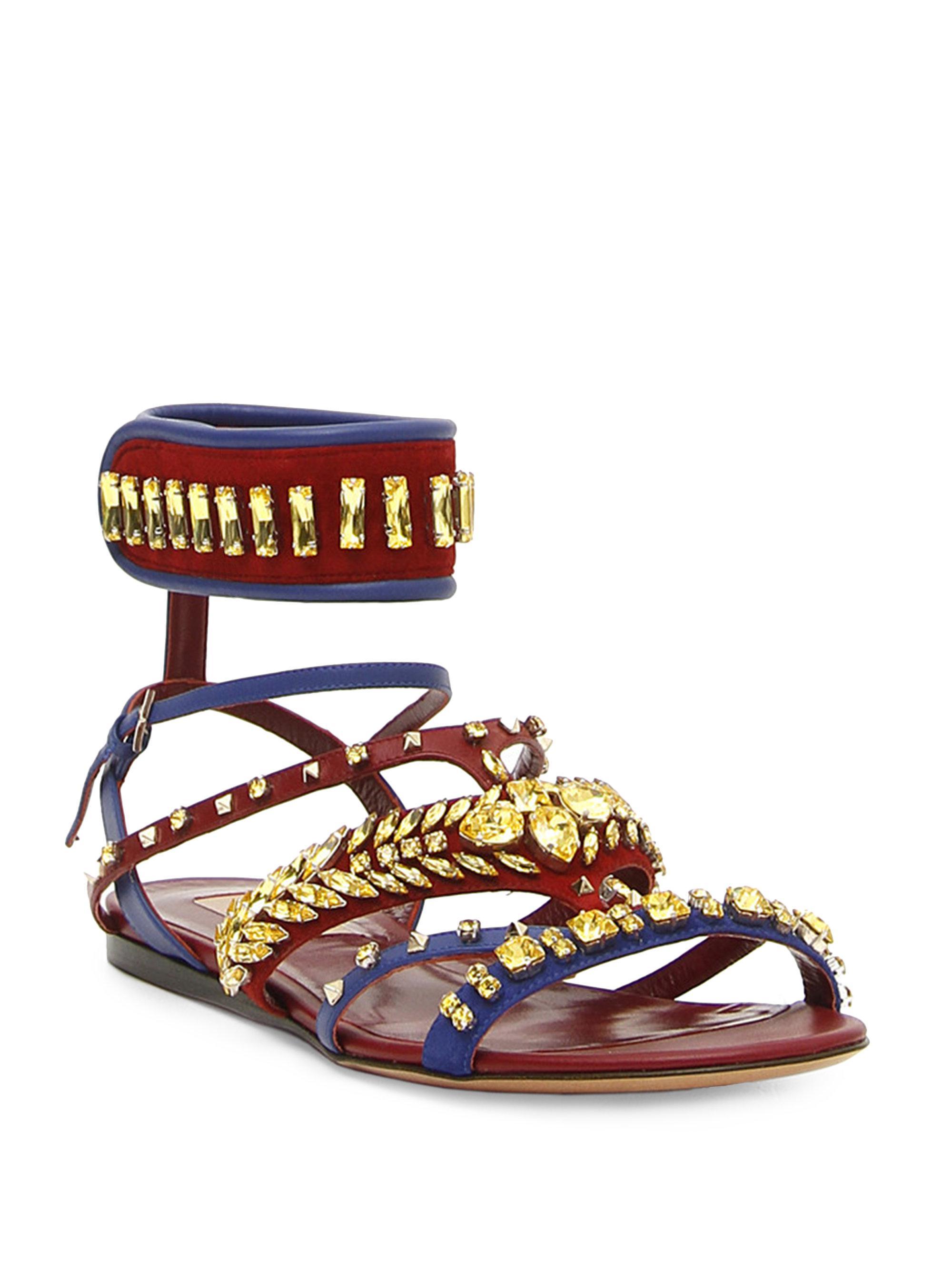 Valentino V. Odissey Gladiator Sandals kMpDTZvL