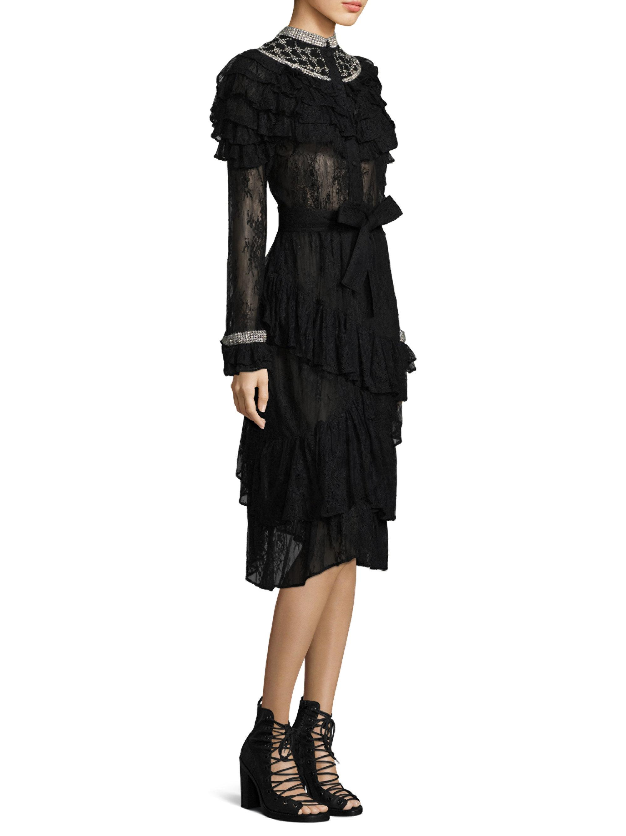New Style lace dress - Black Dodo Bar Or Sale High Quality JC5q3
