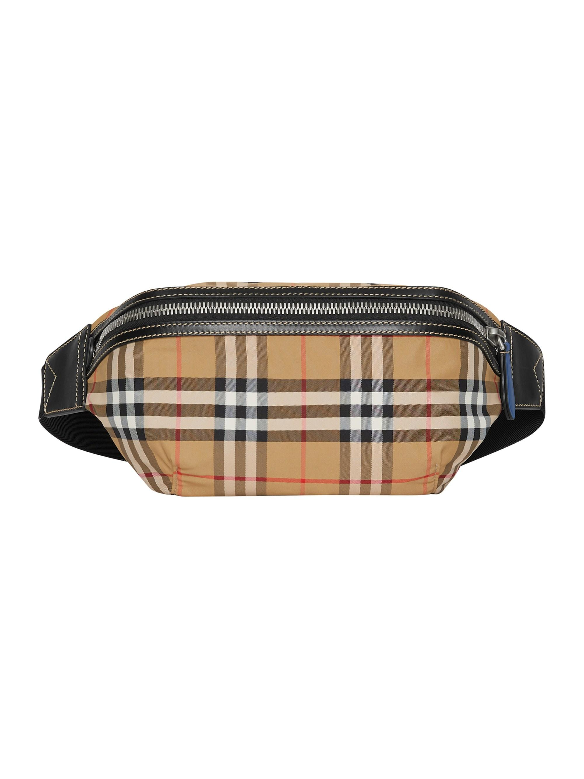 dc7ac018b267 Lyst - Burberry Sonny Vintage Check Belt Bag for Men