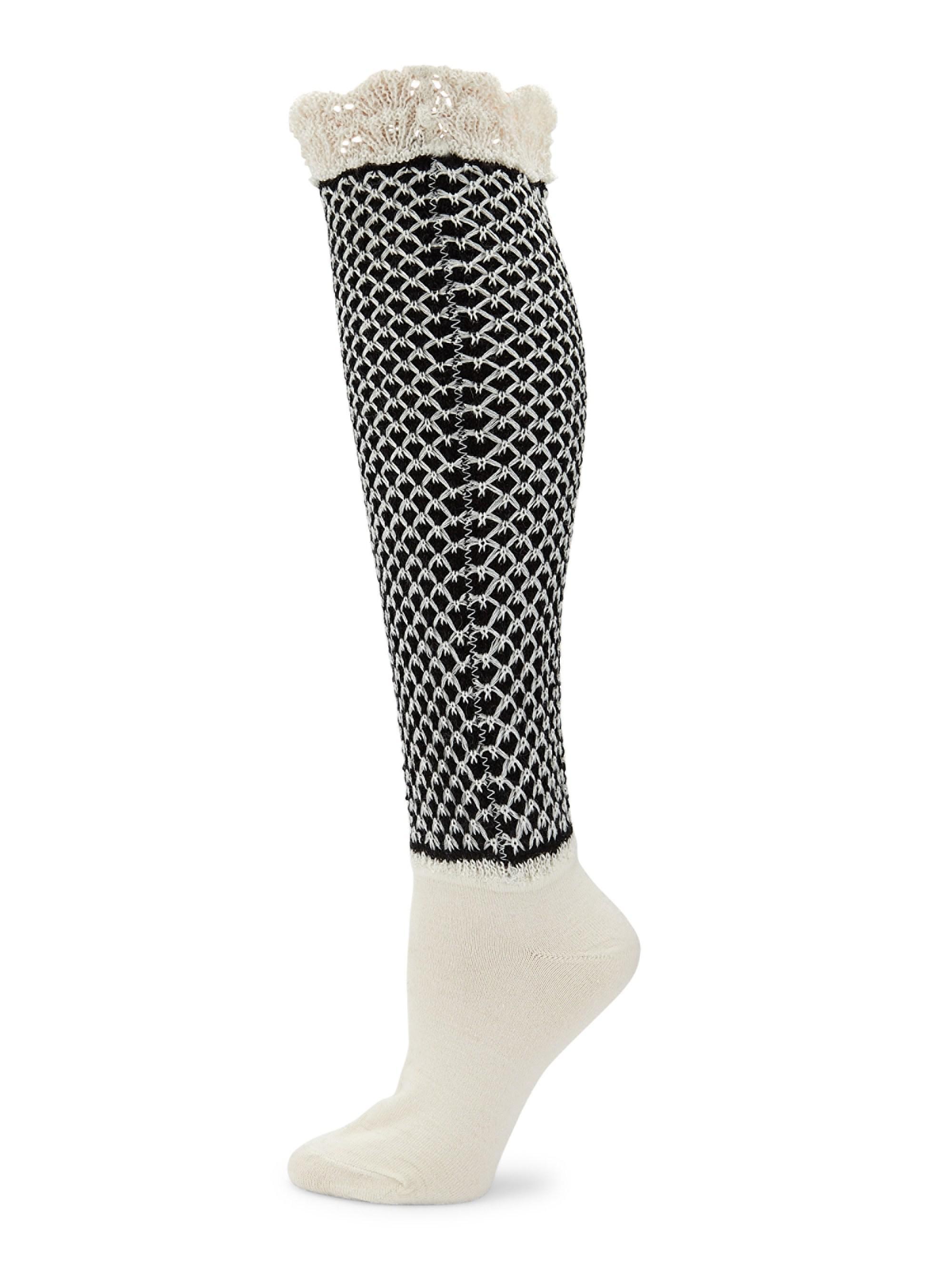Natori Voile Boot Socks Itj0JK6