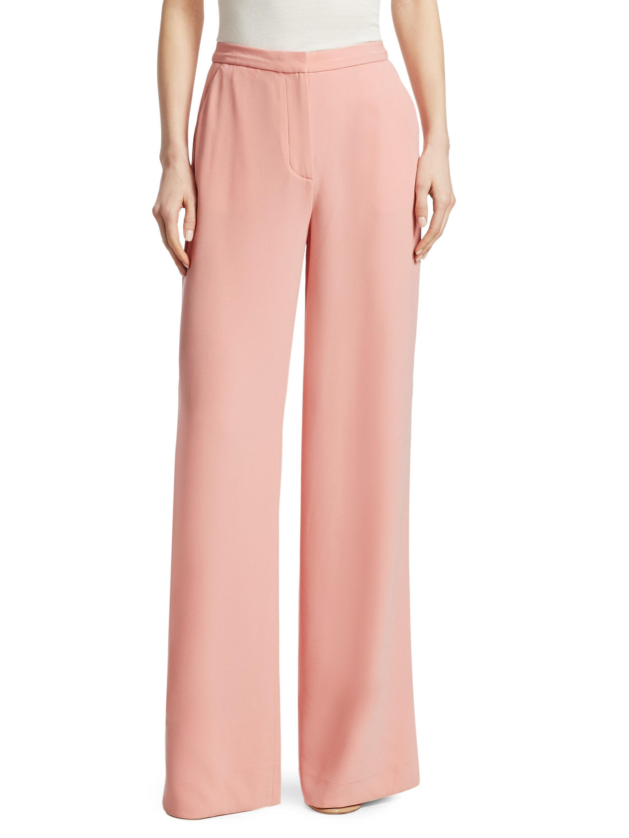 Outlet Low Price Free Shipping For Sale wide leg trousers - Pink & Purple Elizabeth & James Cheap Footlocker Pictures Deals Online Sale High Quality yTQFoi6