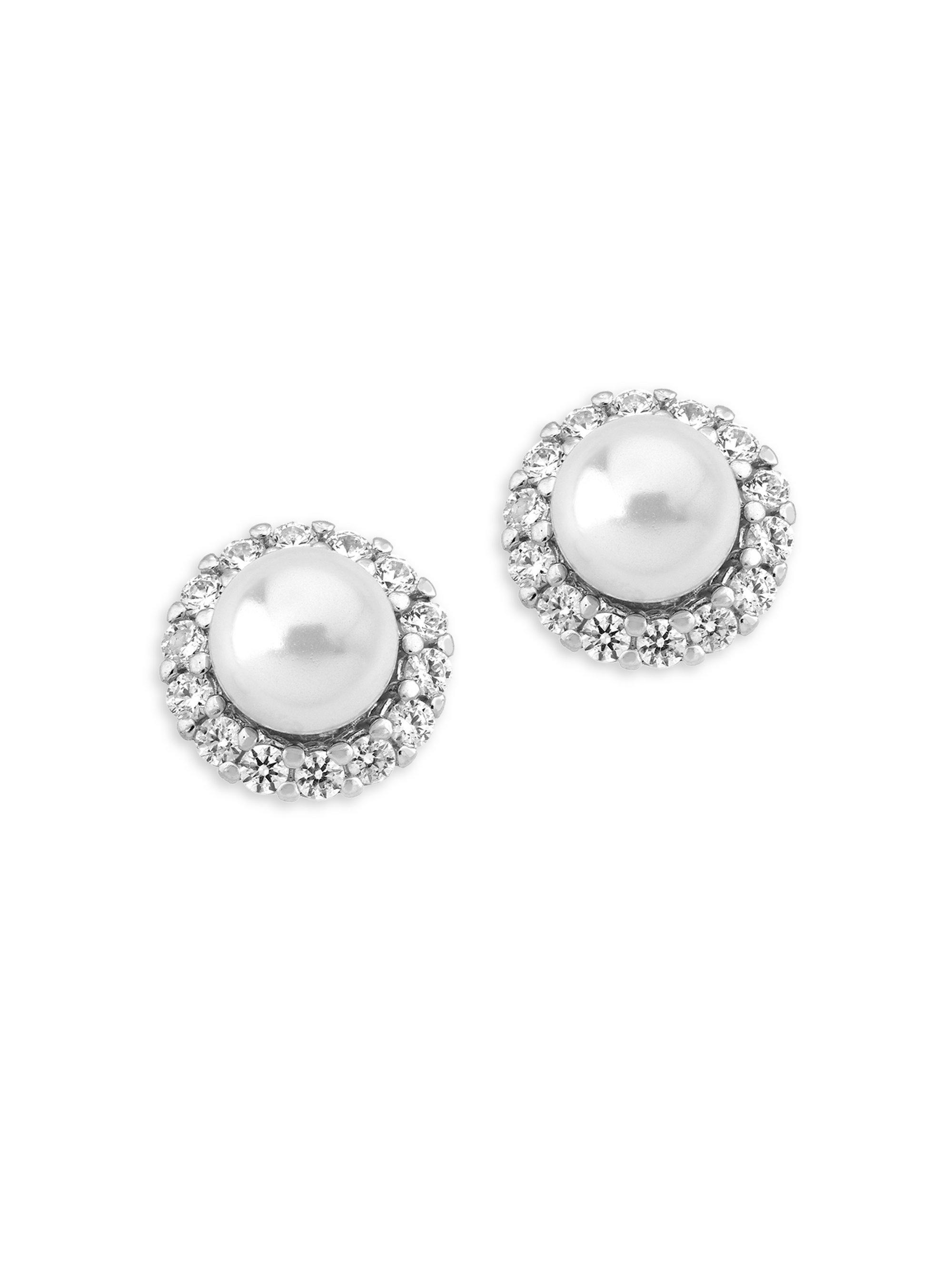 chanel jewelry stud realreal faux enlarged the pearl cc earrings products