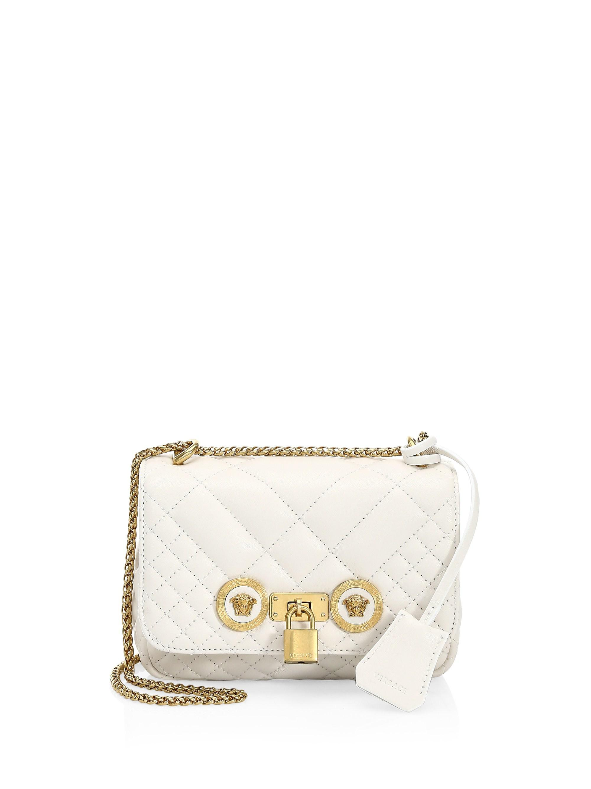 Versace. Women s Small Quilted Icon Shoulder Bag 1d5d8457bf20b