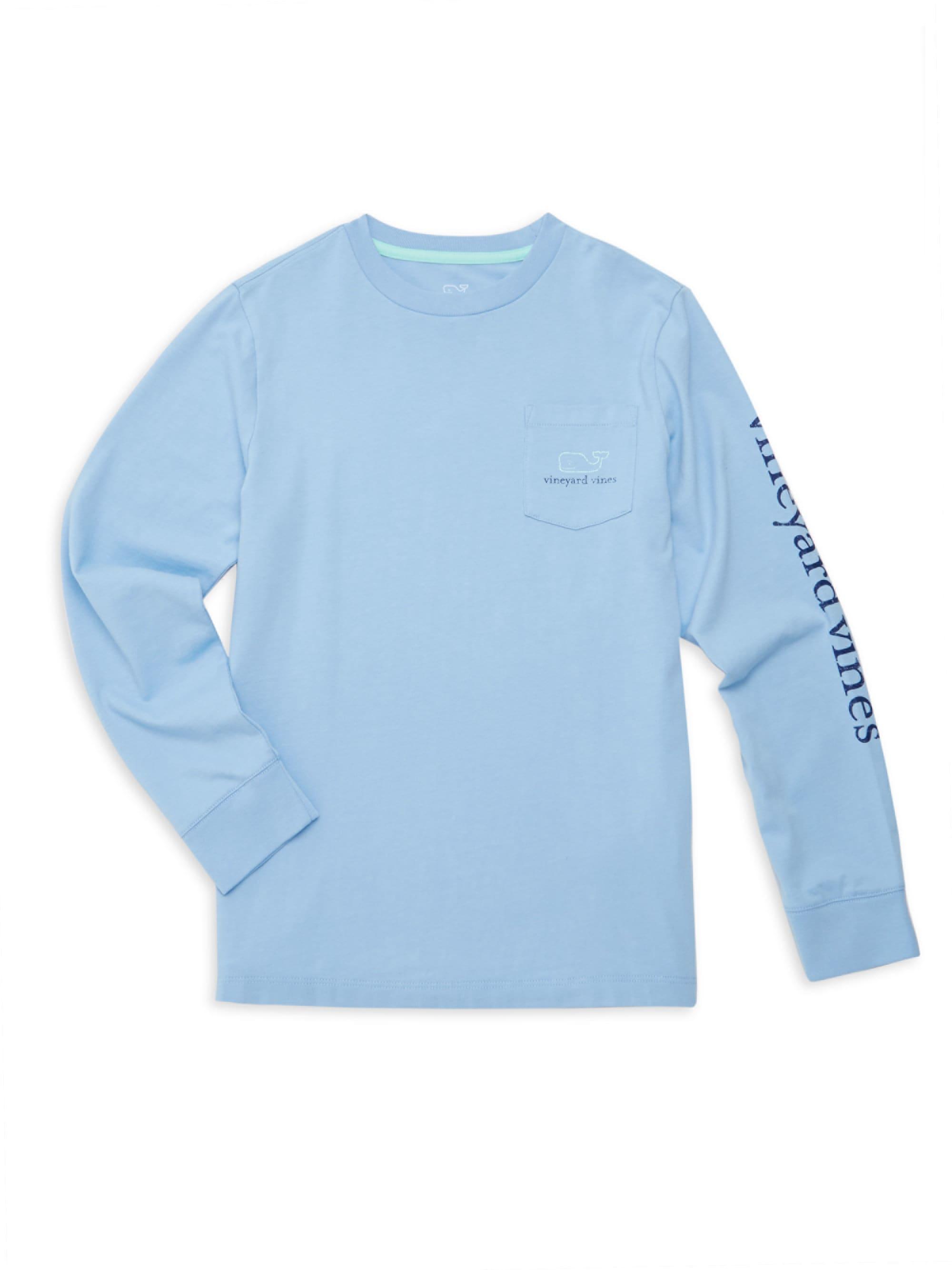 1649d384 Vineyard Vines Little Boy's & Boy's Graphic Long Sleeve T-shirt ...