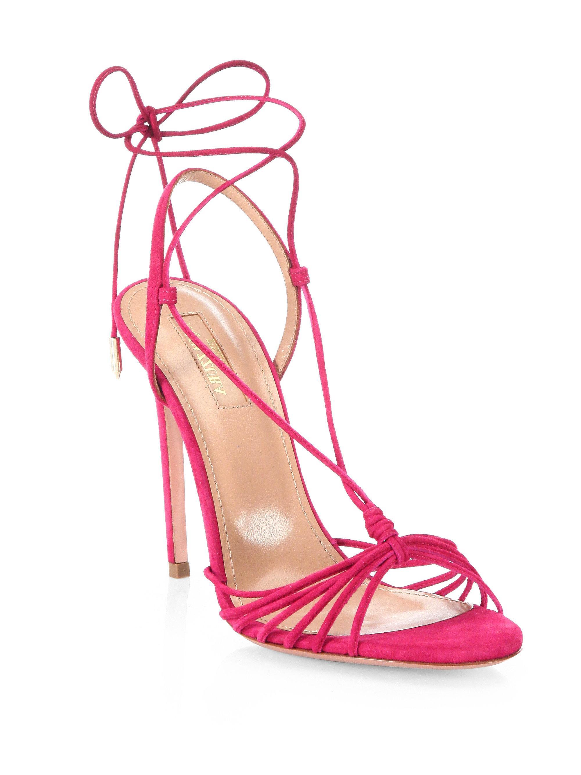 Aquazzura Whisper Sandals DPtzlCTa