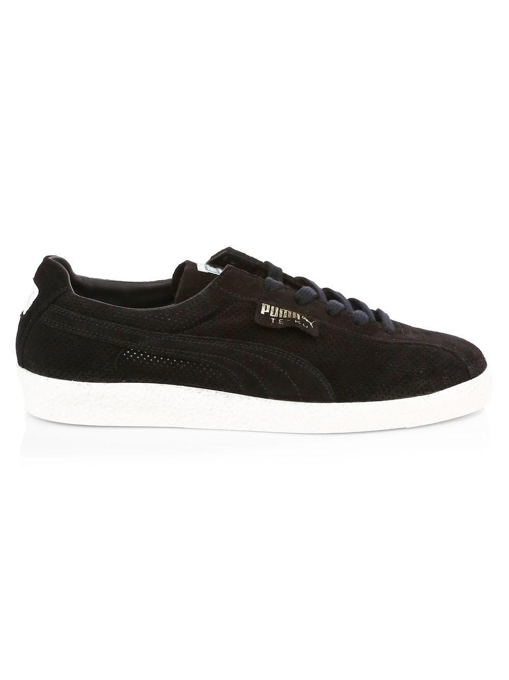 4cb62311879f30 PUMA Te-ku Suede Low-top Sneakers in Black - Lyst