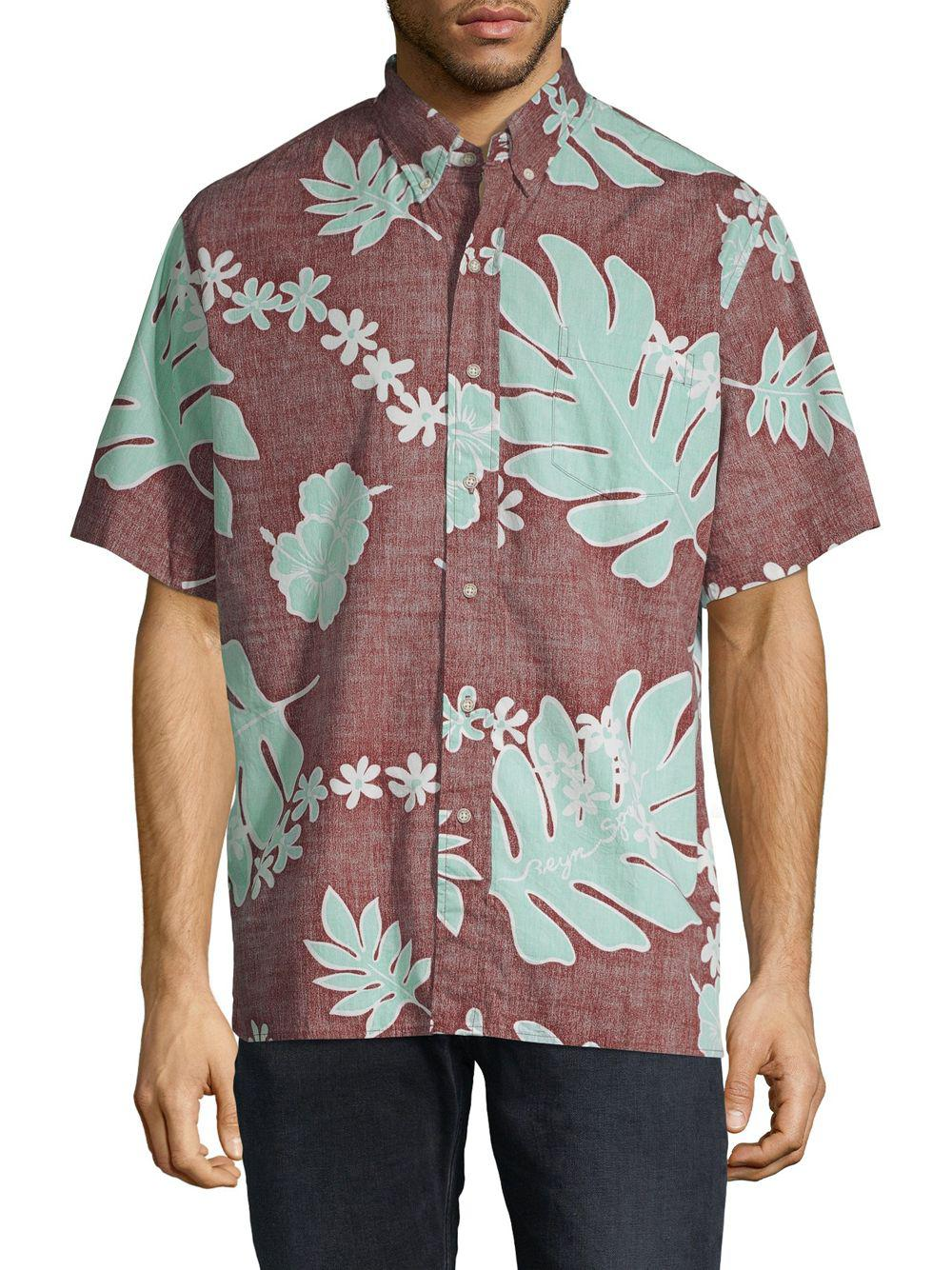 bc39d4f33 Reyn Spooner Old School Cotton Button-down Shirt in Brown for Men - Lyst