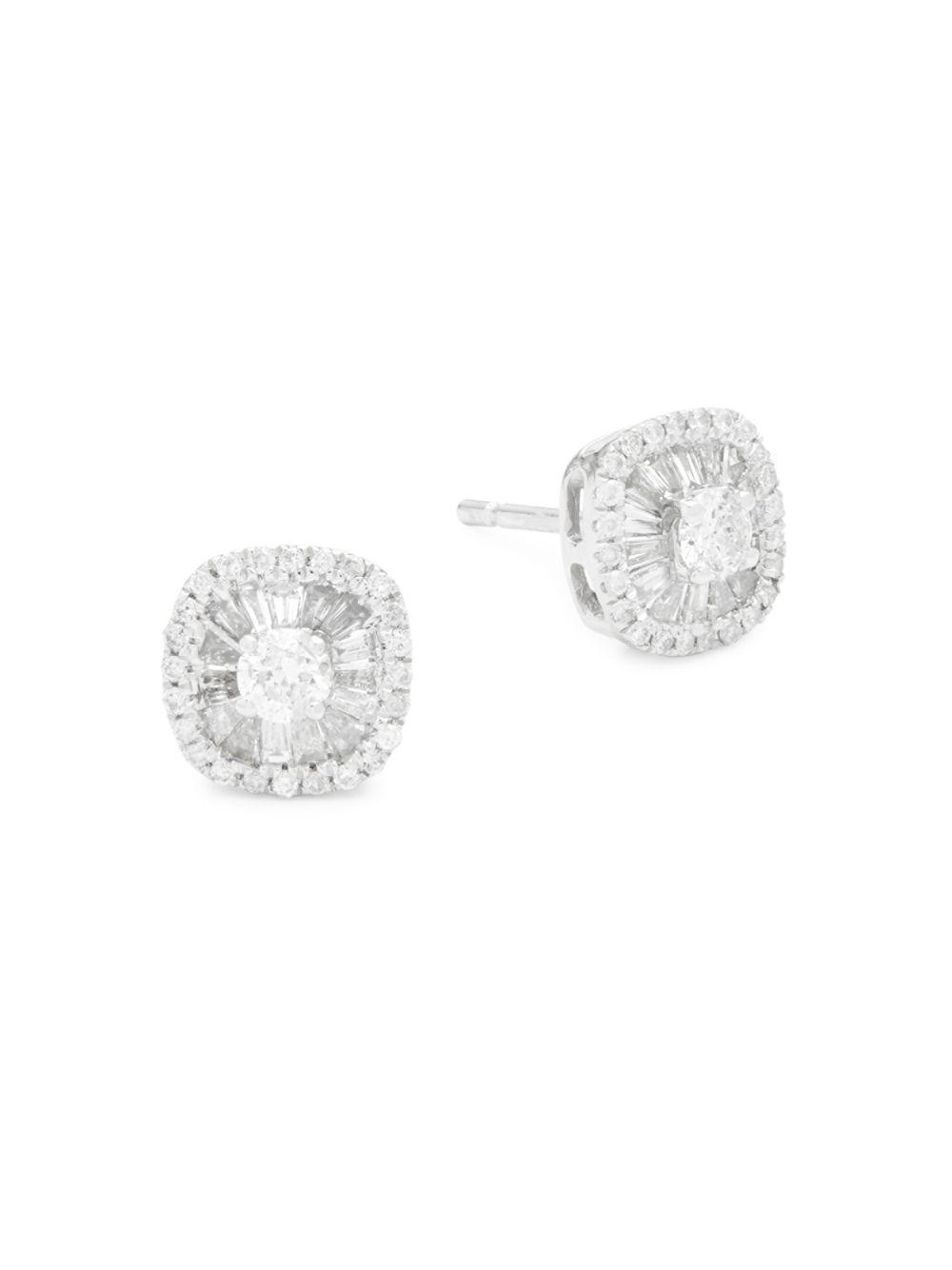 gold nl stud black jewelry diamond women in daisy round for wg with earrings white fascinating earring