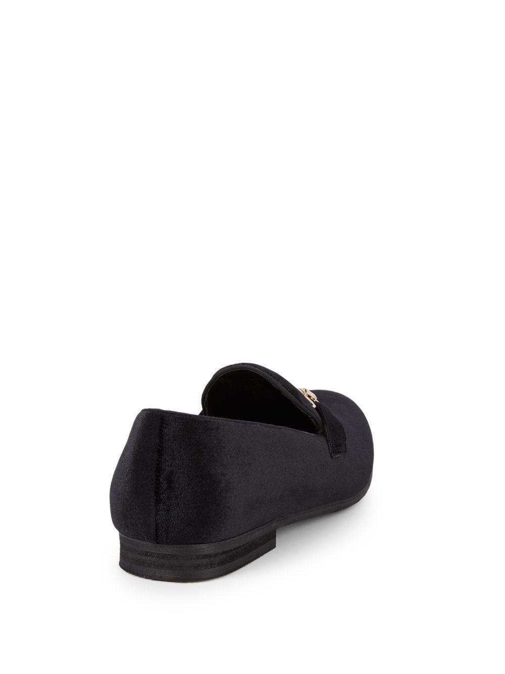 570d3e4d0a65 Lyst - Steve Madden Dodson Velvet Smoking Slippers in Black for Men - Save  3%