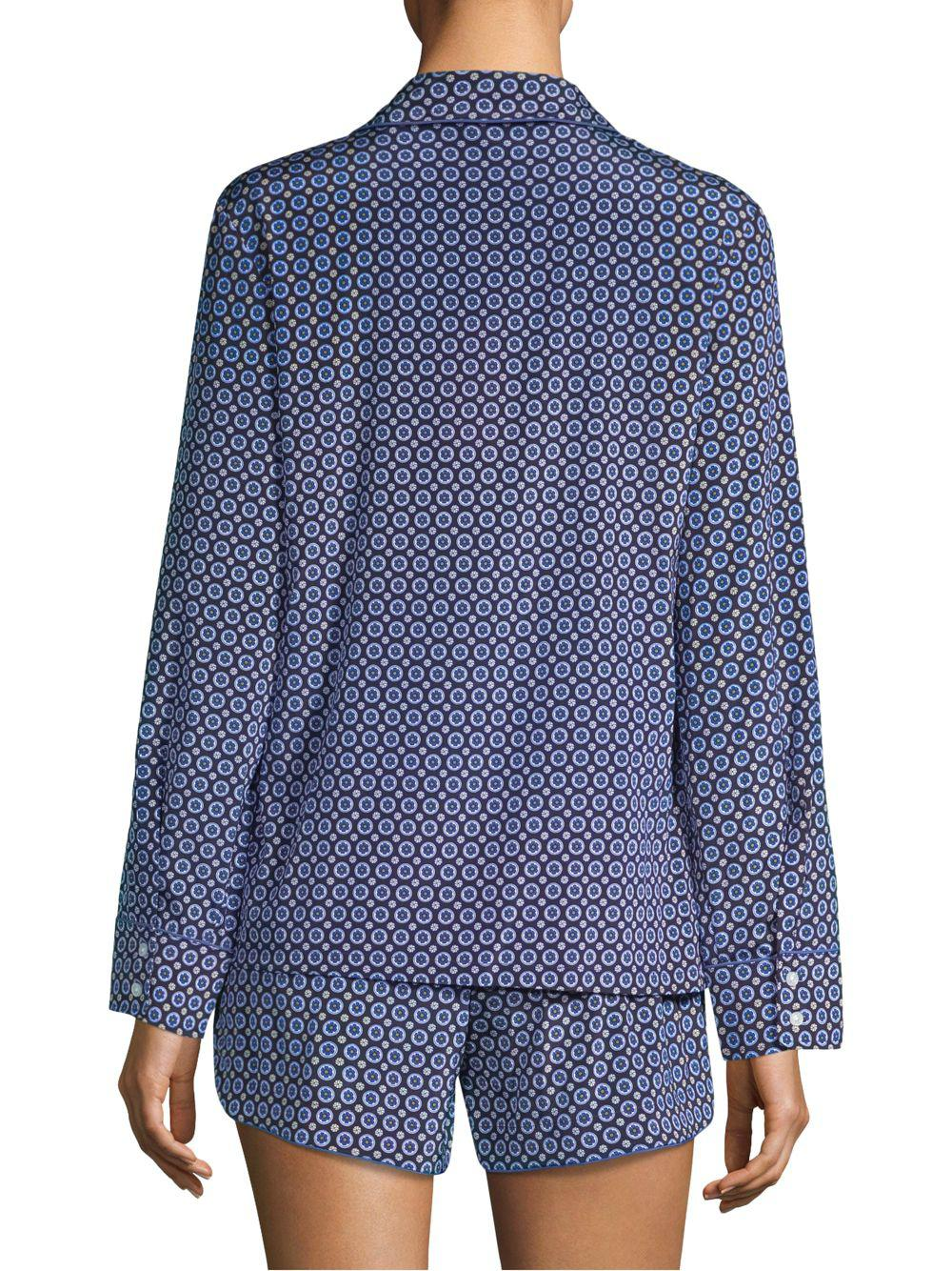 af72da78c6c3 Lyst - Stella McCartney Poppy Snoozing Long-sleeve Pajama Set in ...