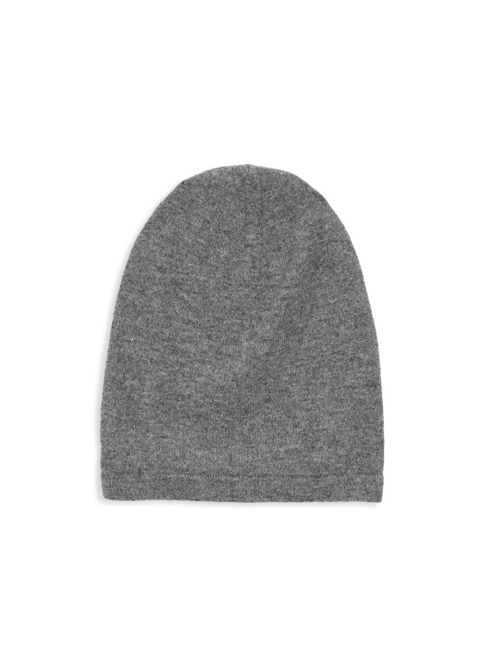 49d197f142a4f Lyst - Saks Fifth Avenue Classic Cashmere Beanie in Gray