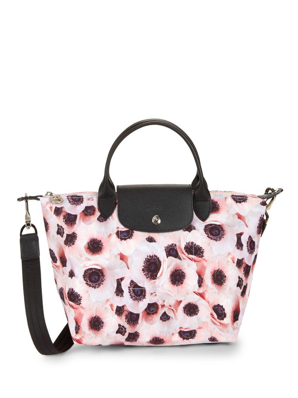 ba382148c900d Longchamp Le Pliage Anemone Tote Bag in Pink - Lyst