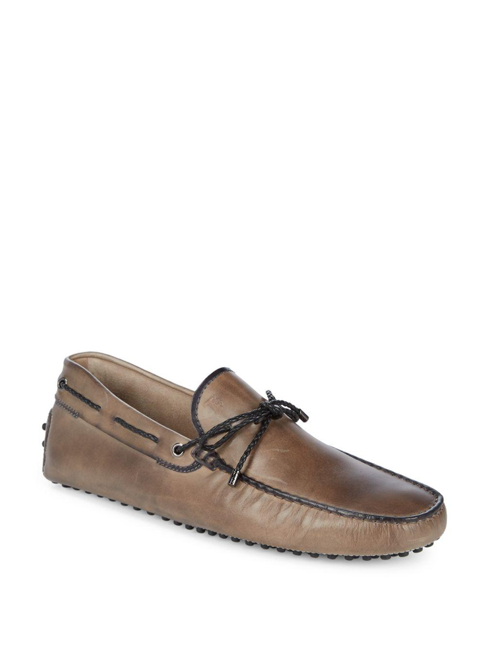 Mens Leather Tie Drivers Tod's a2TVkW
