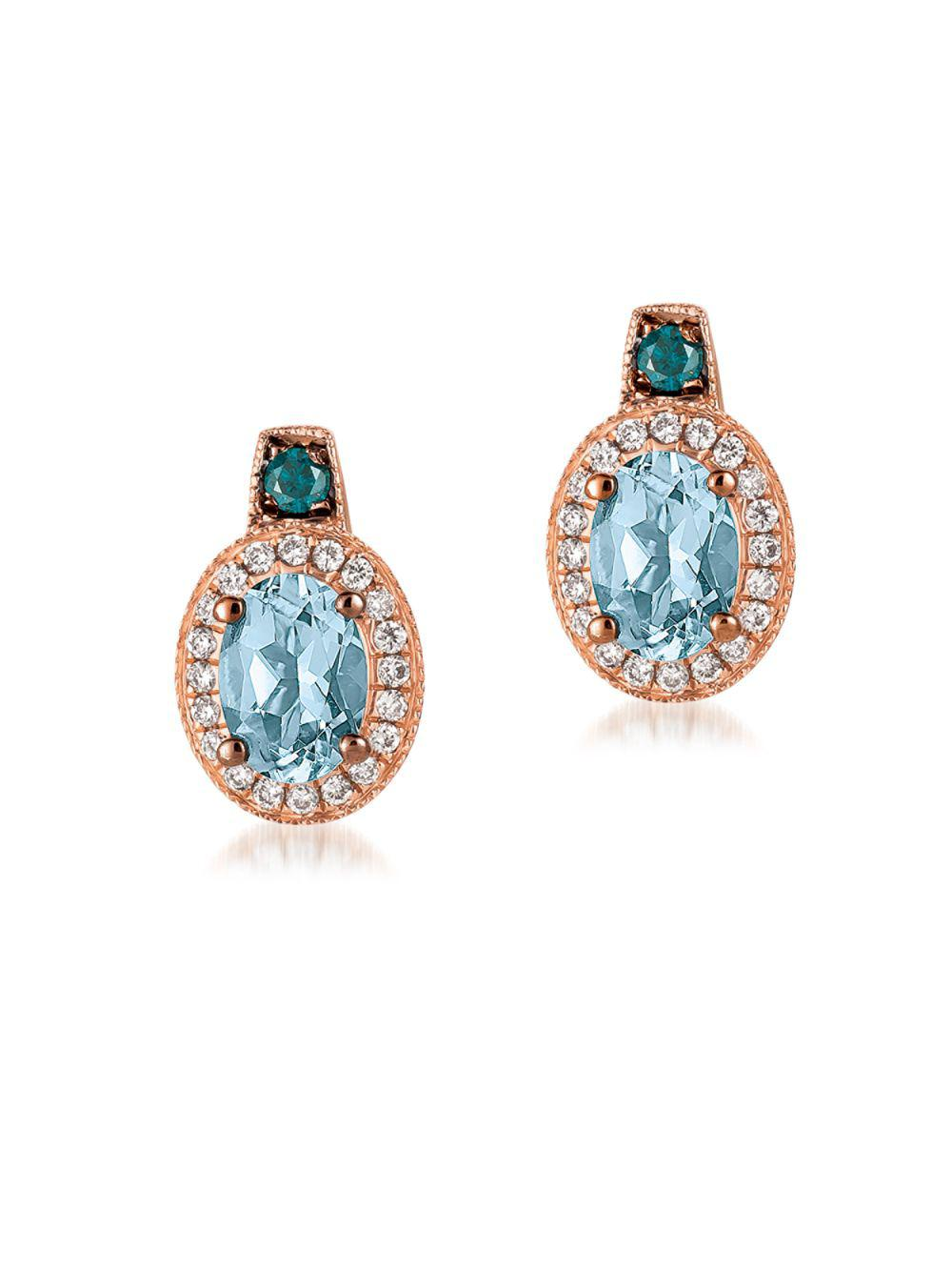 cambridge nzd silver products aquamarine aqua the collection marine stud earrings
