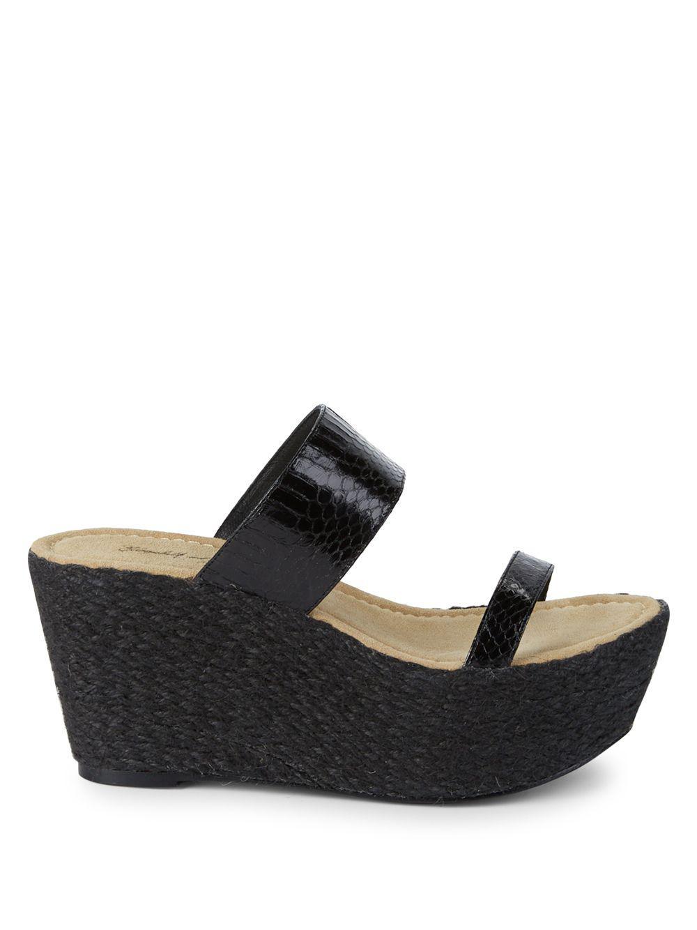 Kimber james heels wedge