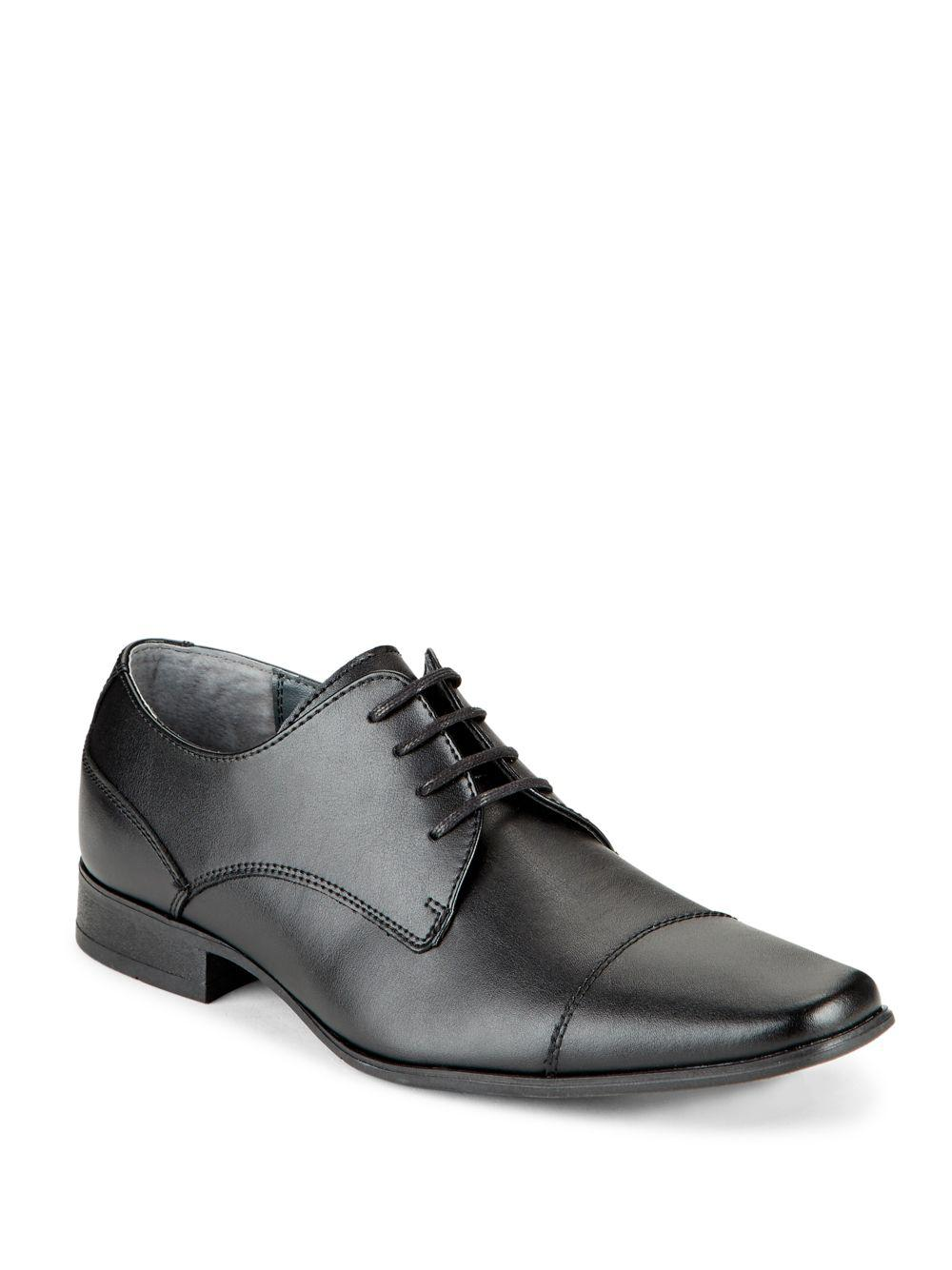 Lyst - Calvin Klein 205W39Nyc Bachman Leather Lace-up Shoes in Black for  Men - Save 14%