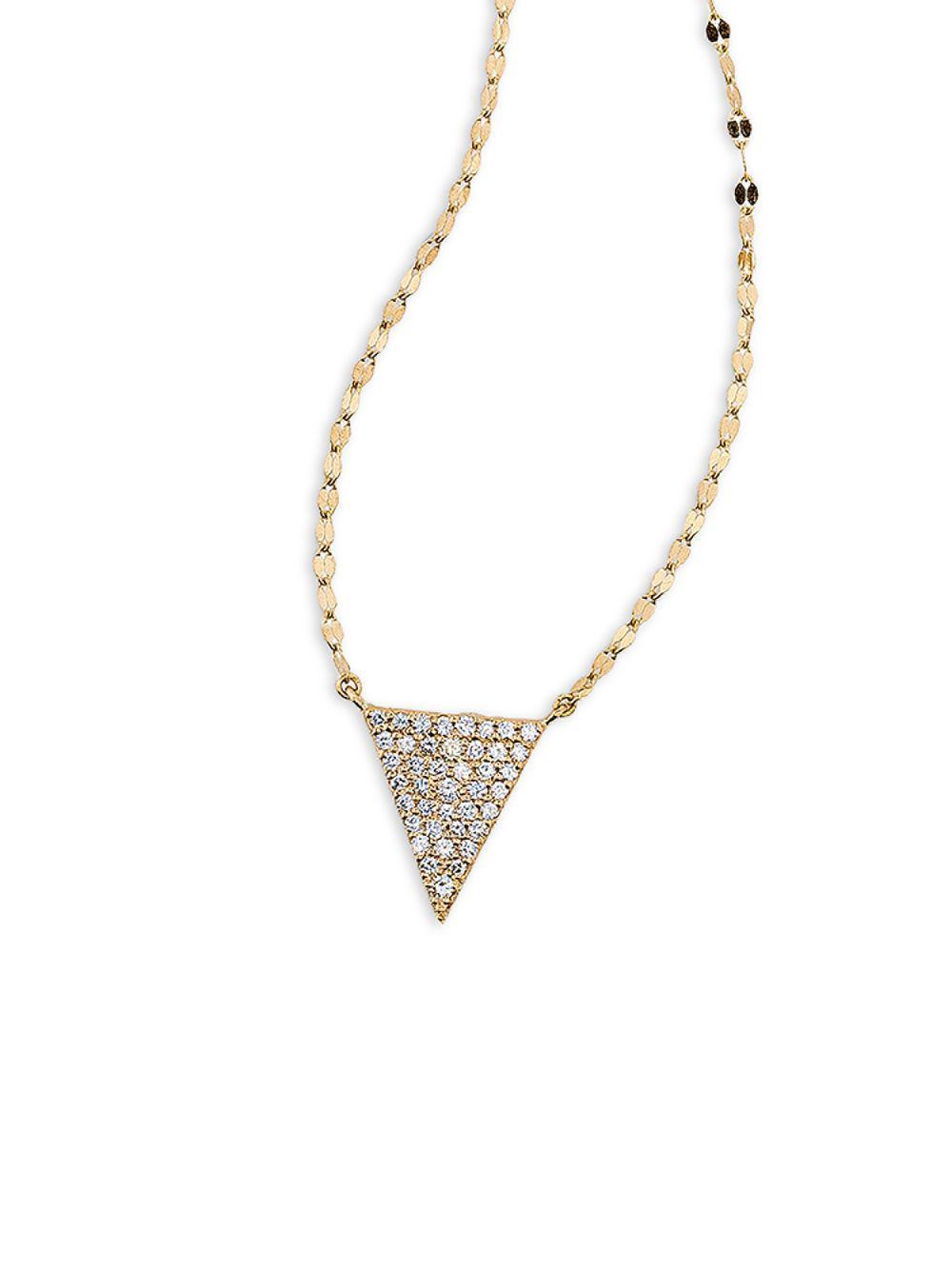 Lana Jewelry Flawless 14K Marquis Mini Diamond Lariat Necklace GZDKRX