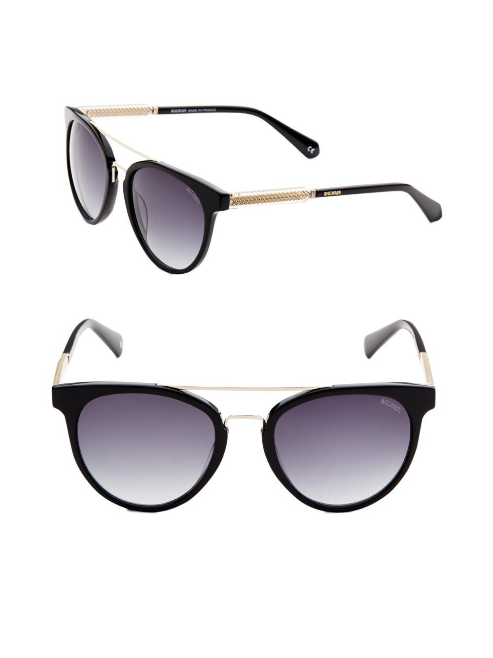 db0c8cd01e Lyst balmain gradient aviator sunglasses in black jpg 1000x1334 Balmain  sunglasses