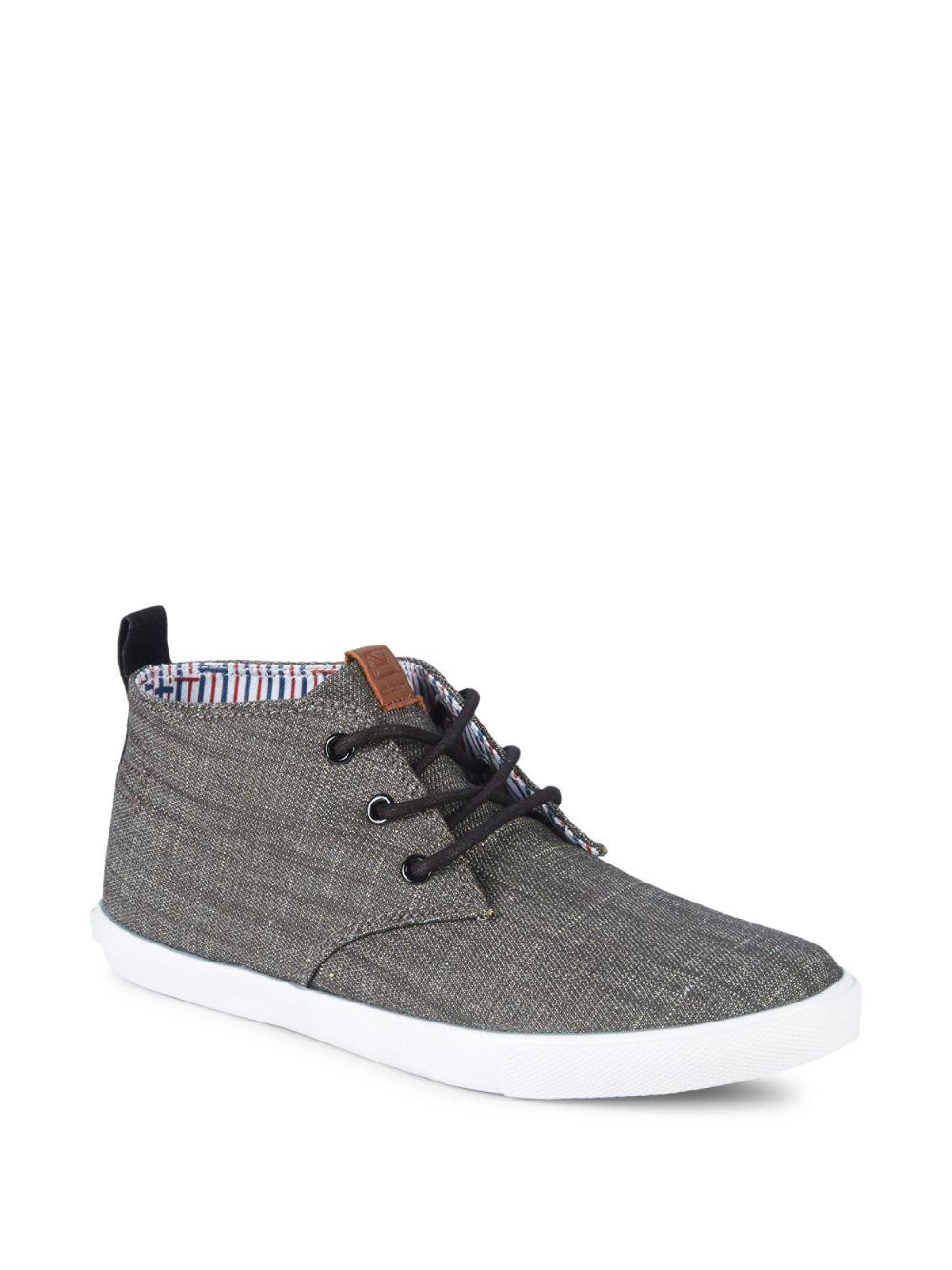 b271058b043b Lyst - Ben Sherman Chukka Style Sneakers in Black for Men