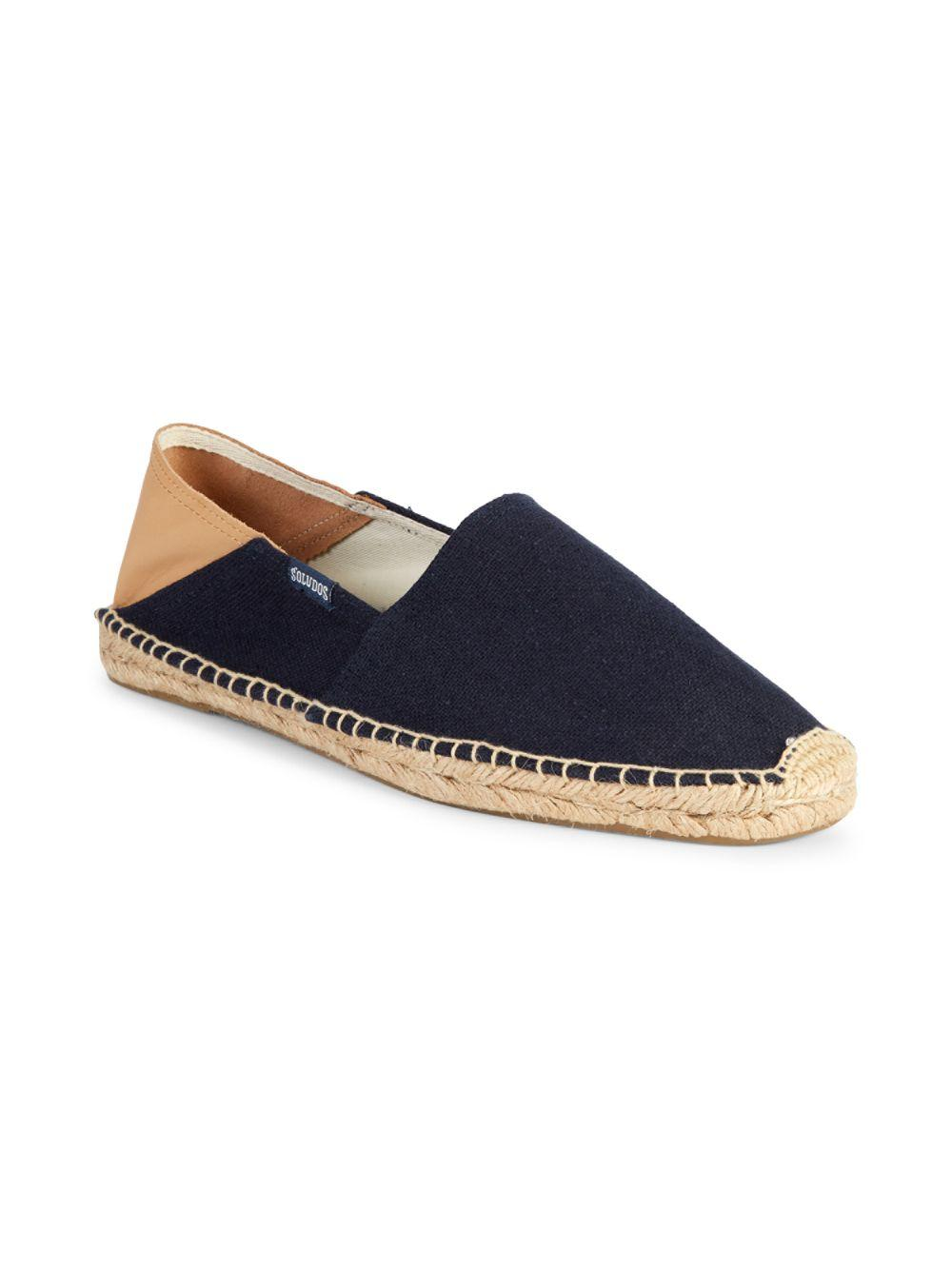 65ed43e27 Lyst - Soludos Collapsible Heel Convertible Espadrille Flats in Blue for Men
