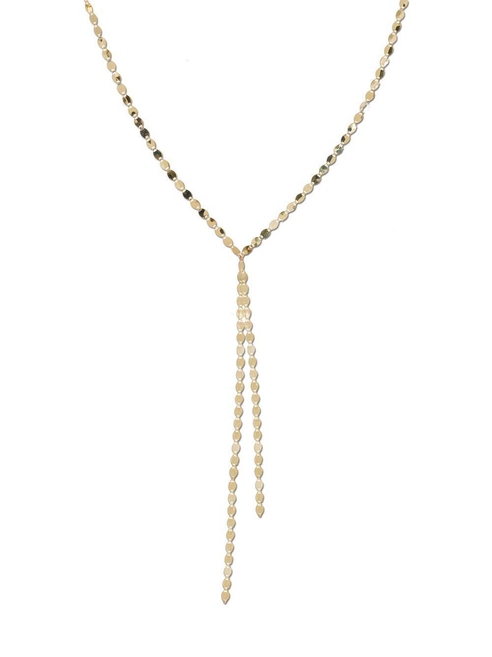 Lana Jewelry 14k Nude Duo Layering Necklace in Yellow Gold