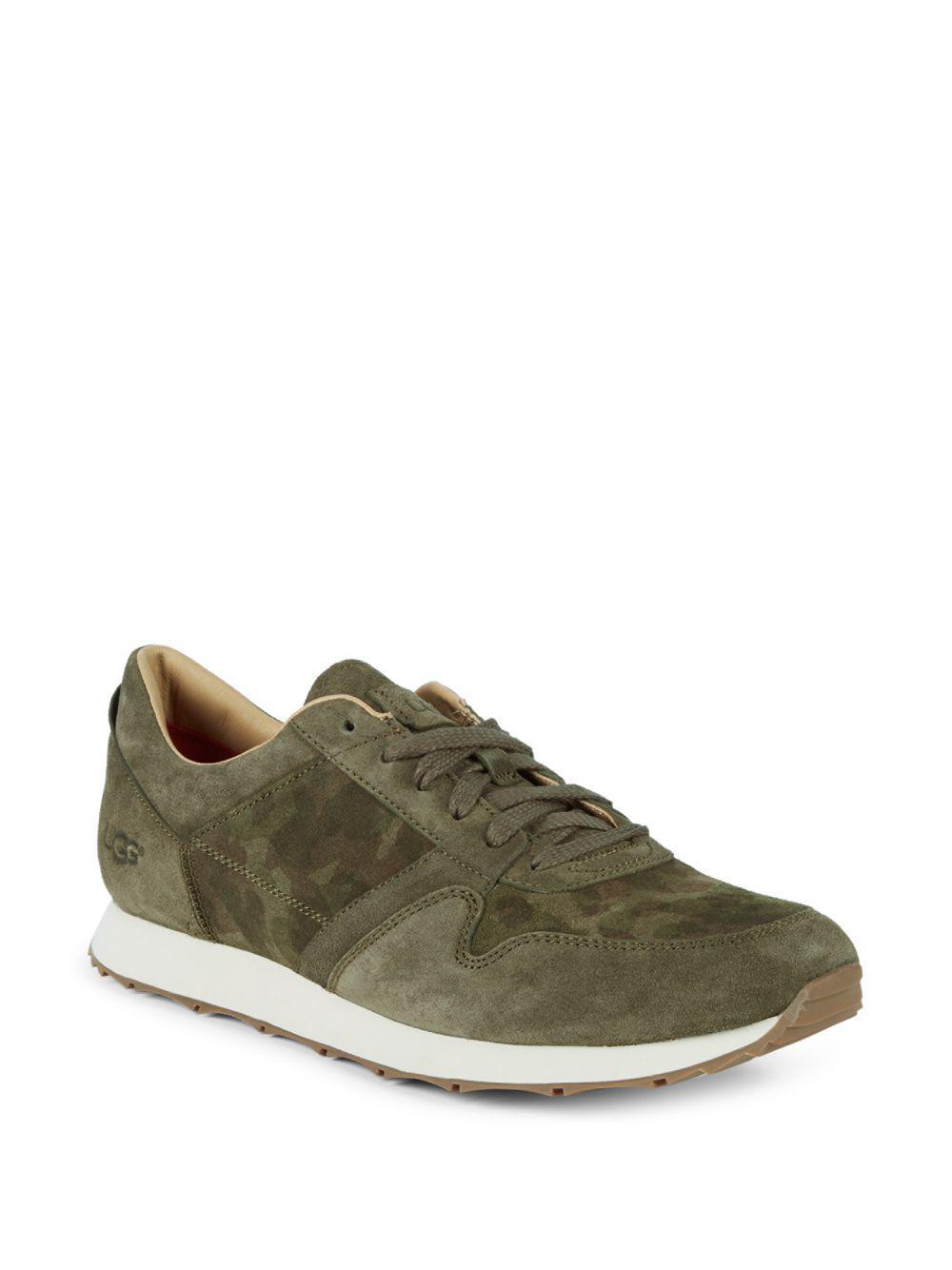 Sneaker TRIGO suede Logo camouflage khaki UGG EhBHMv