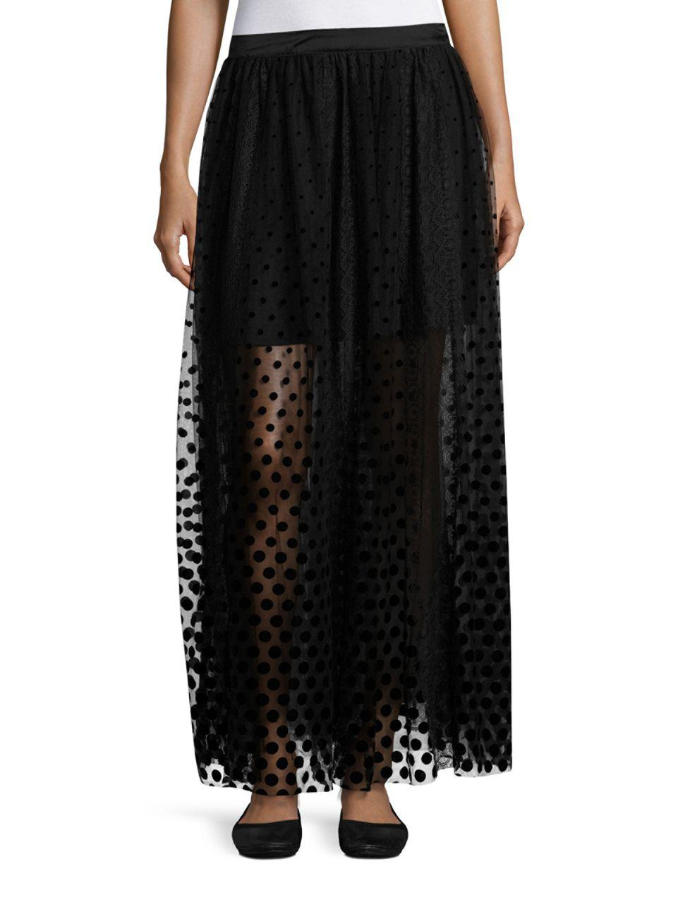 e4d4da2e31 Free People Dreaming Of You Maxi Tutu Skirt in Black - Save 31% - Lyst