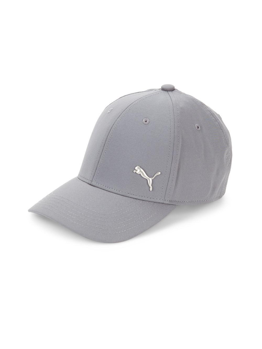 sports shoes 01357 03170 ... norway puma. mens gray evercat stretch fit logo cap 6a079 7c7e6