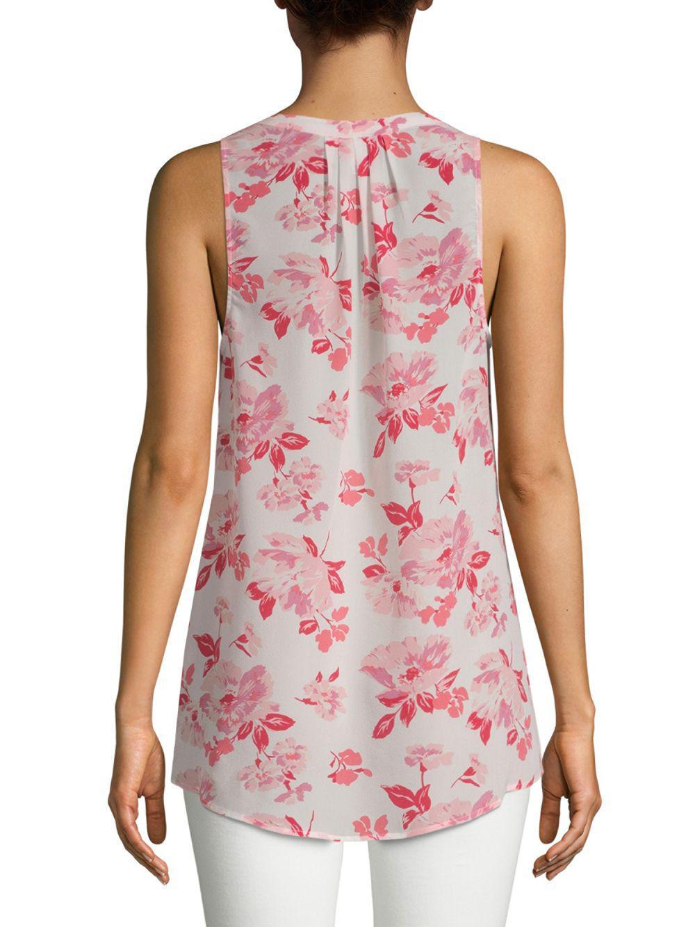 56bb9b3f680d3e Joie - Pink Aruna Silk Blouse - Lyst. View fullscreen