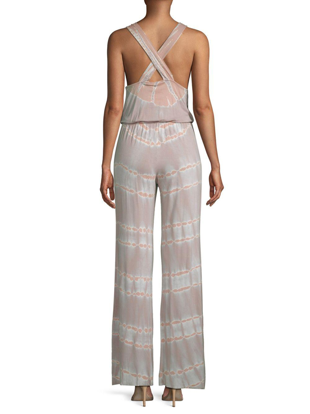 fbcbfd852824 Lyst - Young Fabulous   Broke Val Printed Jumpsuit