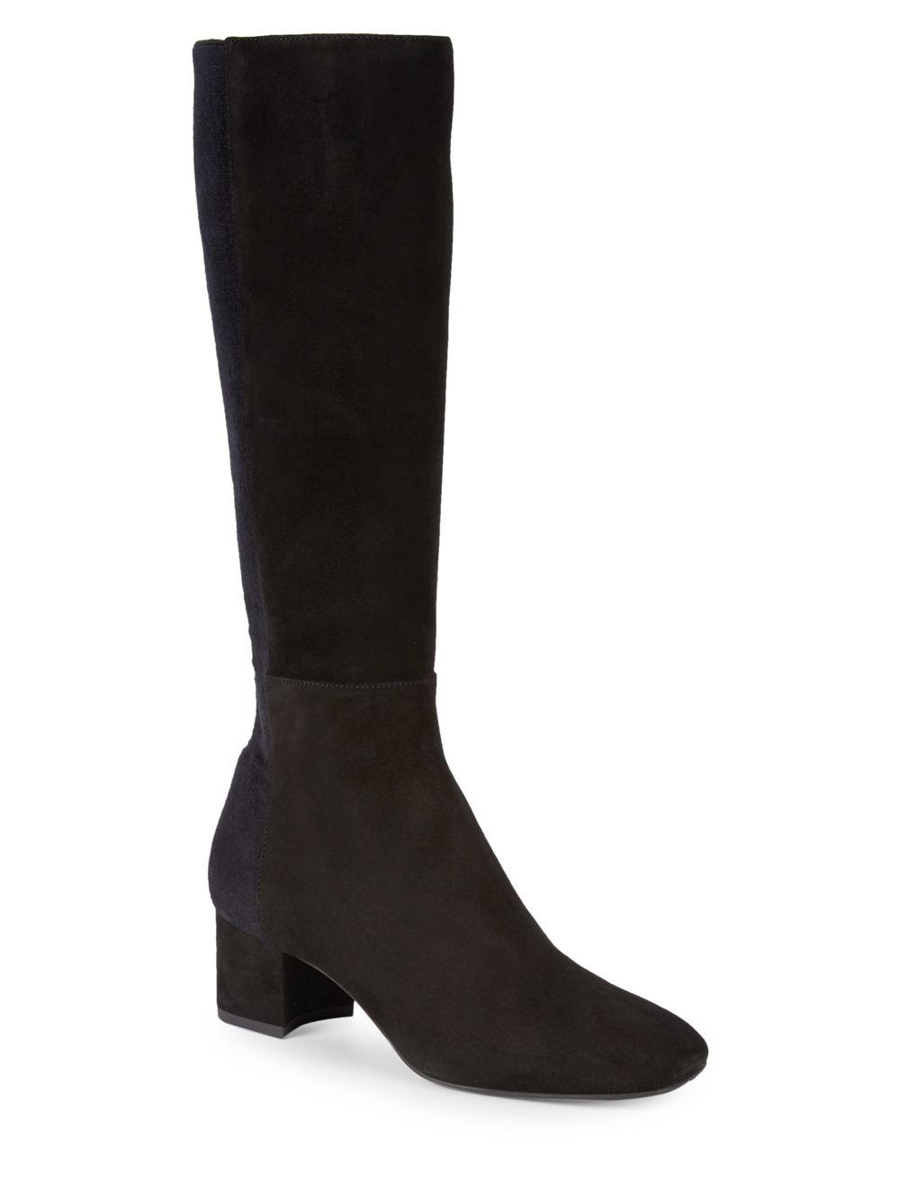 86387a313ec Black Suede Dress Boots - Dress Foto and Picture