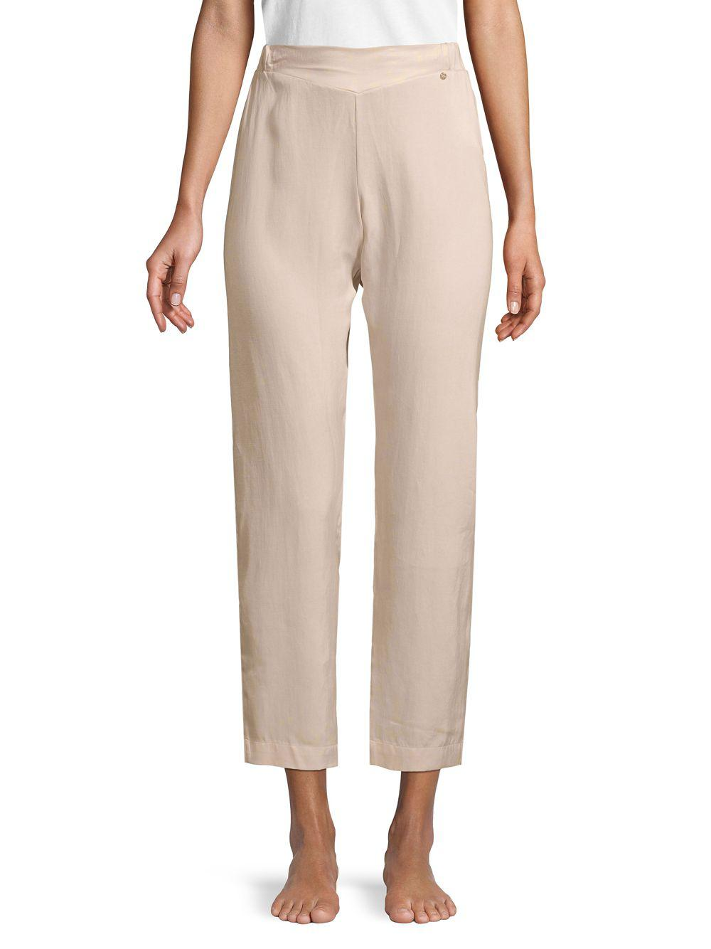 b2ff9687a419c Lyst - Hanro High-rise Lounge Pants in Gray