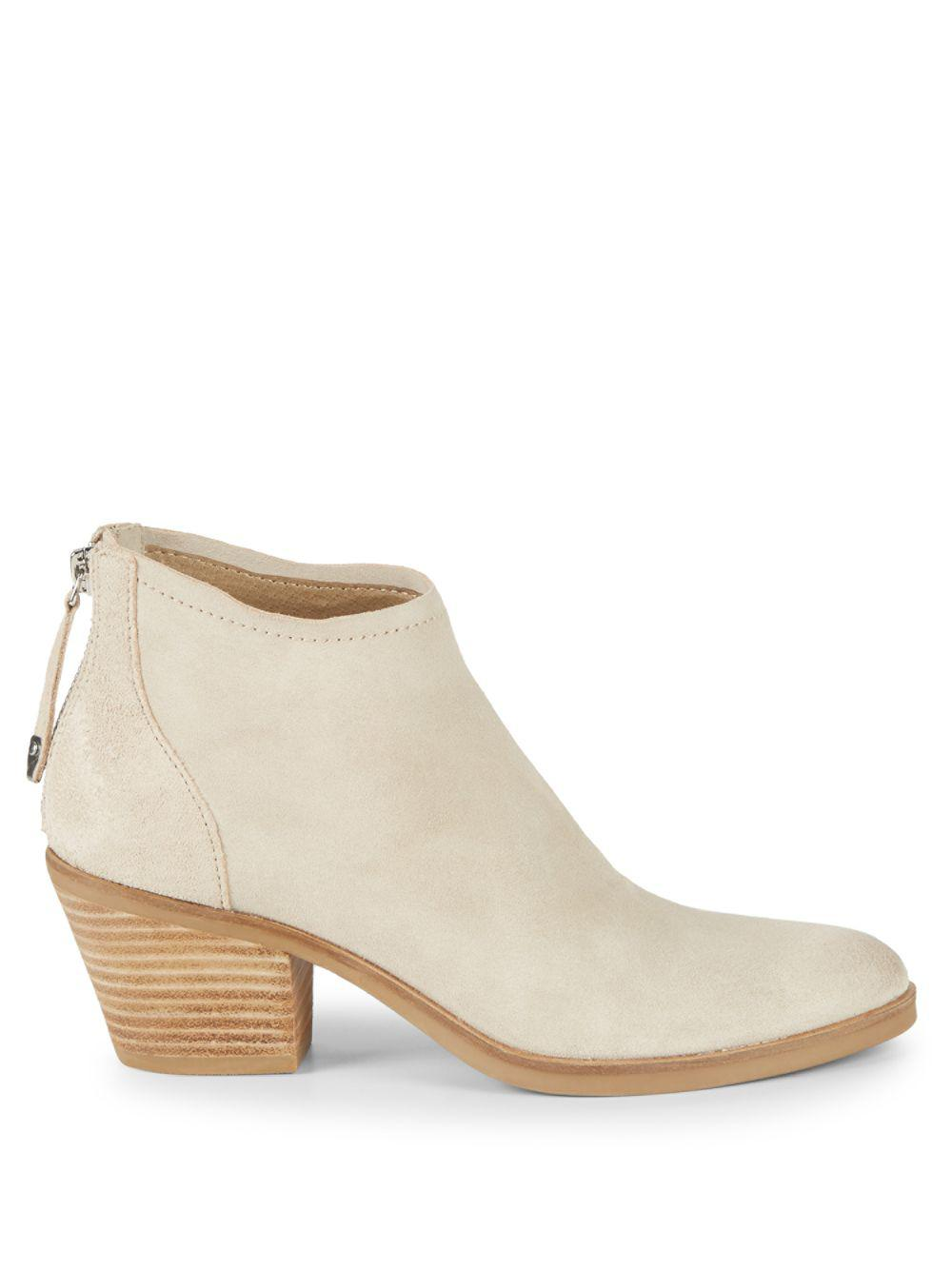 65e174d6e50 Lyst - Dolce Vita Erika Suede Booties in Natural