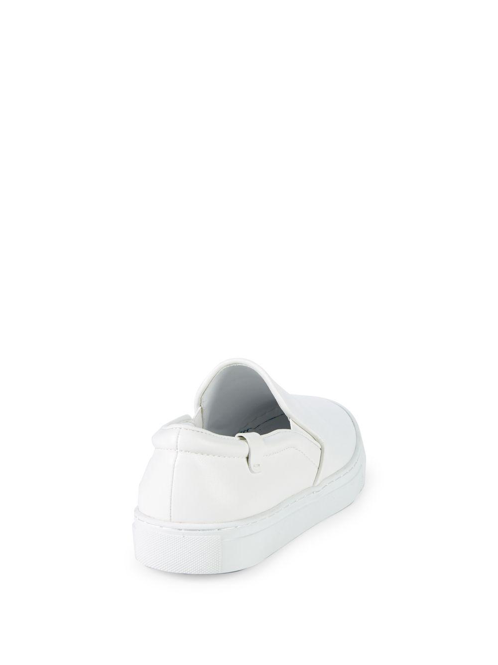Lyst - House of Future Original Leather Slip-on Sneakers in White ... 6bb6926b5