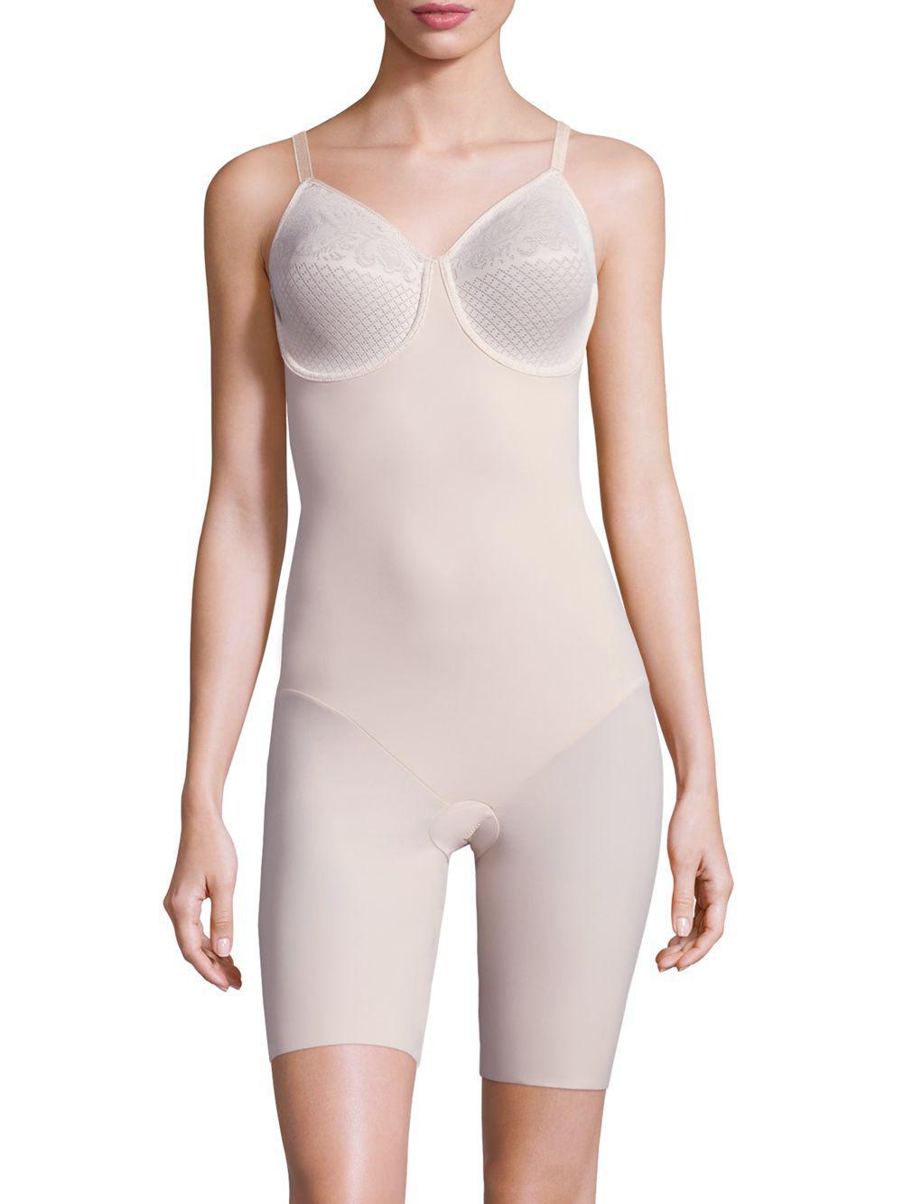 e5b3d7dafcf Wacoal. Women s Visual Effects Thigh Shaper Bodysuit