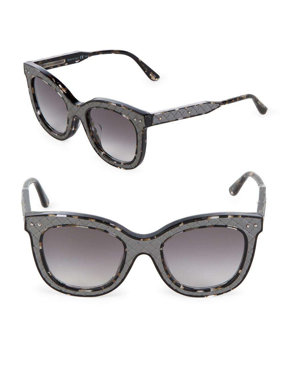 Bottega Veneta Tinted cat-eye sunglasses