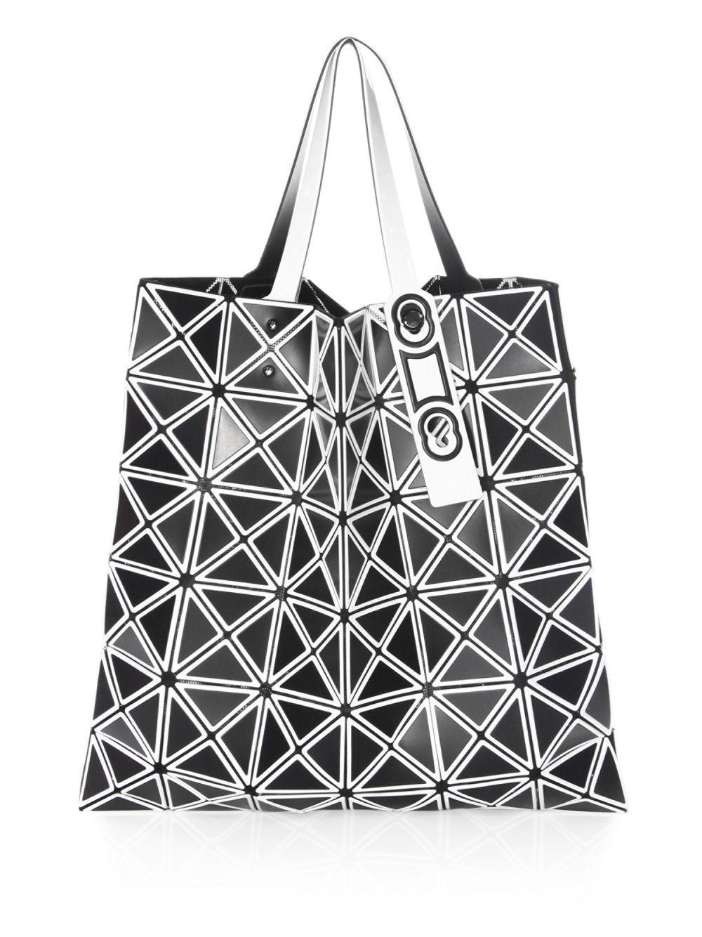 7c5ef5a9d83c Lyst - Bao Bao Issey Miyake Lucent Inlaid Tote in Black - Save 40%