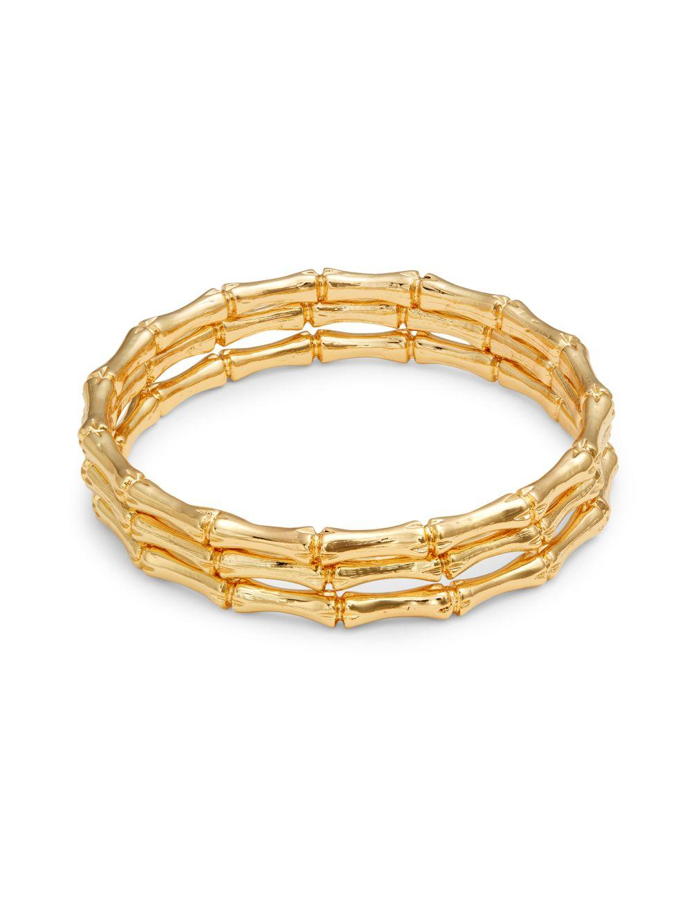 Image result for Kenneth Jay Lane 3-Piece Bamboo Bangle Set