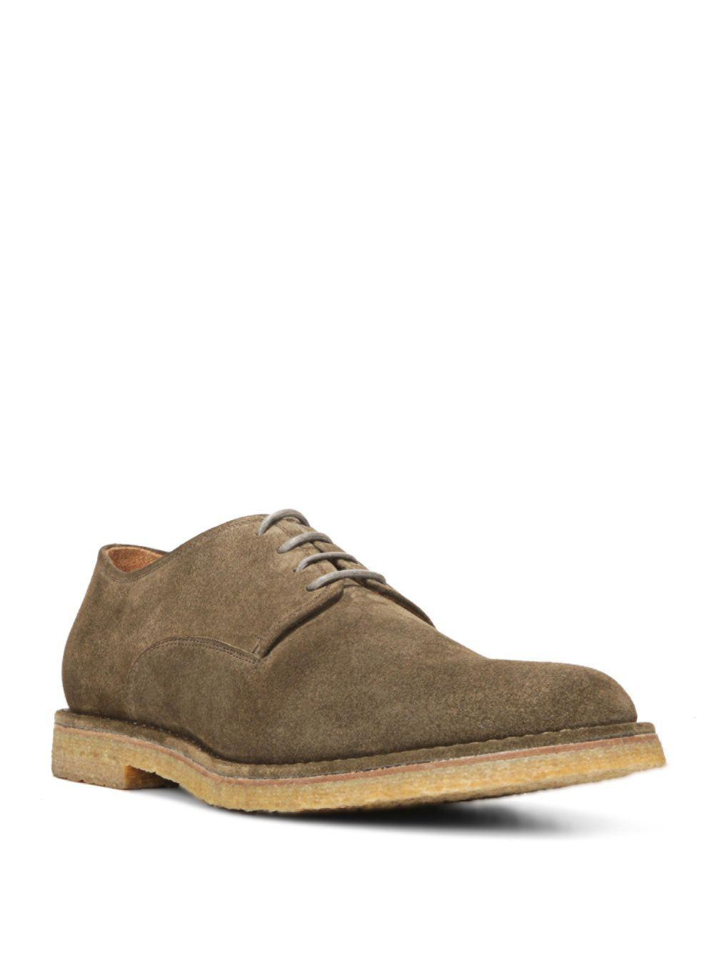 Vince Stetson Suede Lace-Up Shoes 8kK1E