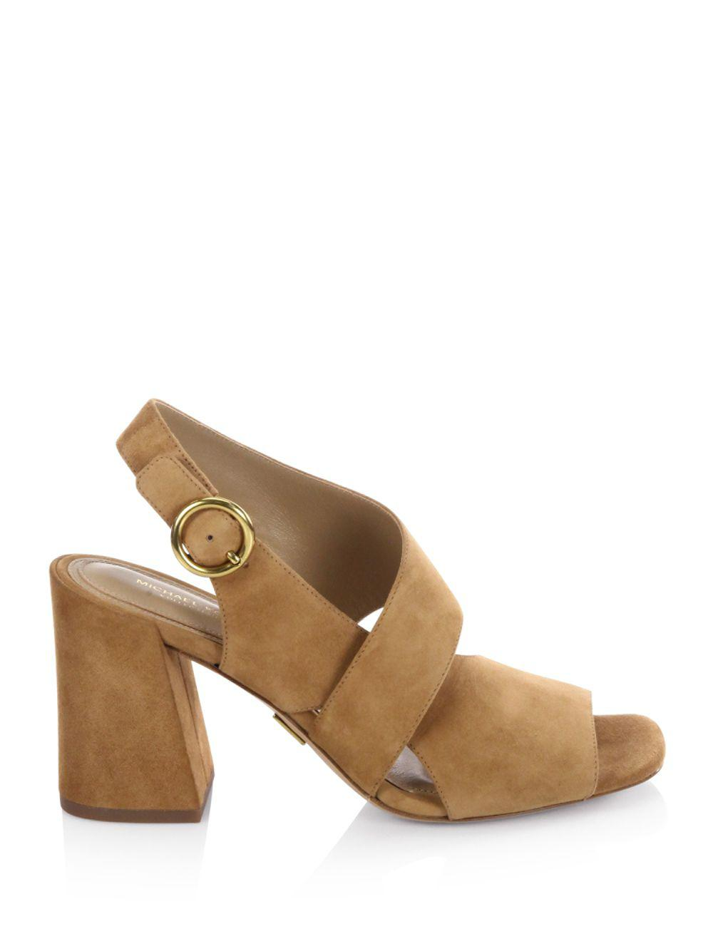 Michael Kors - Multicolor Asher Suede Sandals - Lyst. View fullscreen