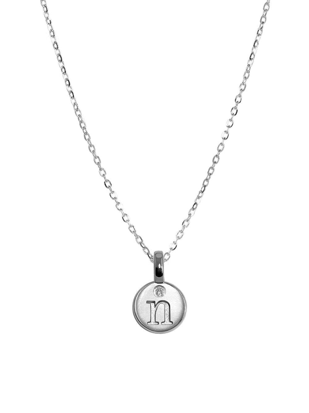 Fragments Multi-Size Heart Necklace OC6Er