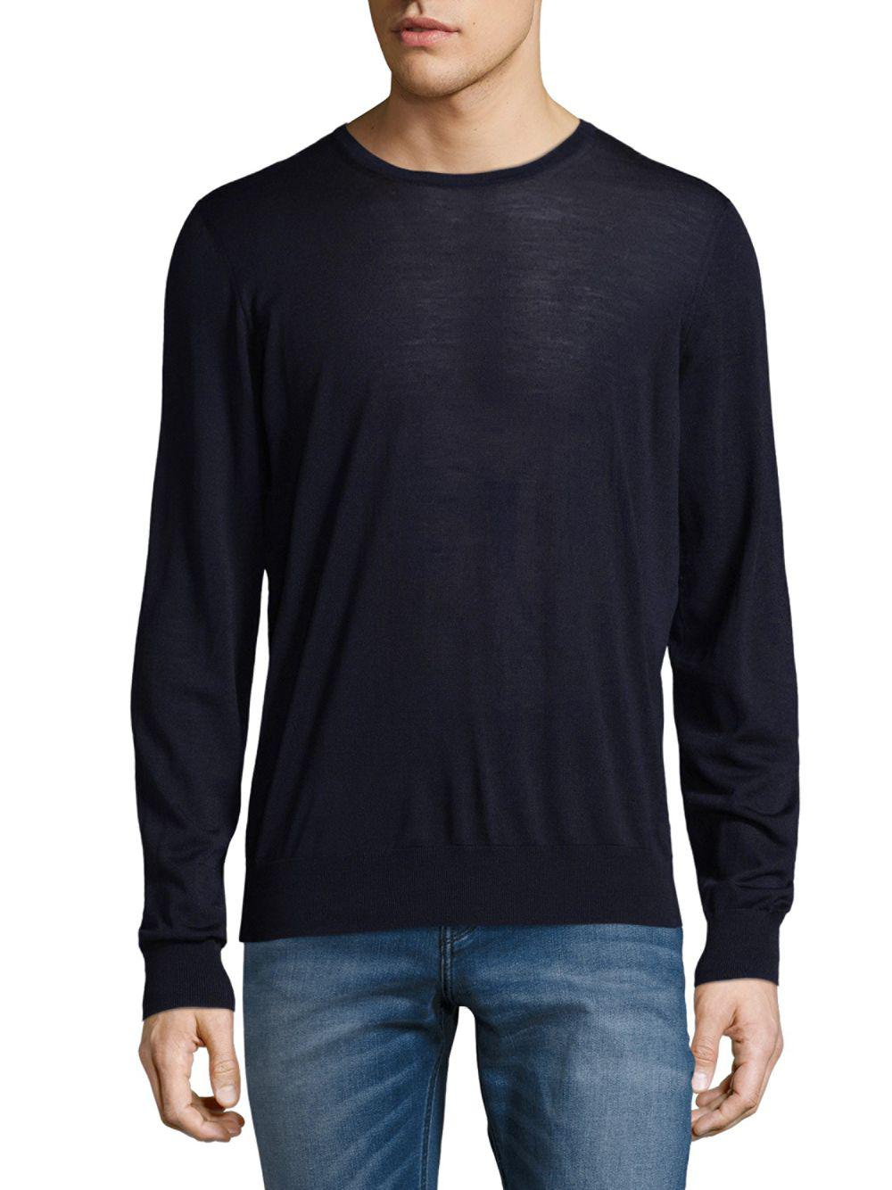 Outlet With Paypal Order Armani Crew neck wool sweater Best Seller sH3lNcXsv0
