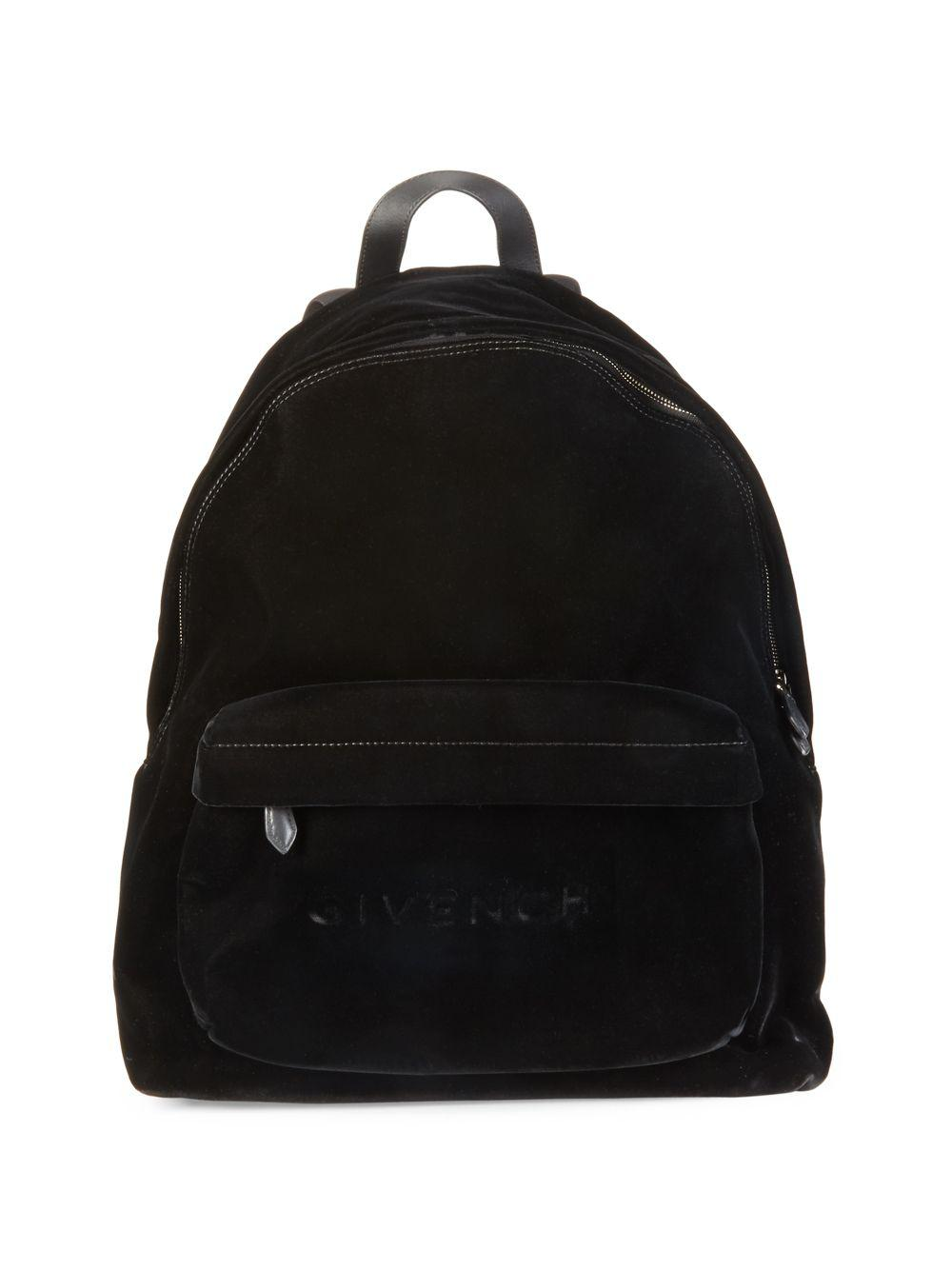 6f1615a1468 Givenchy Solid Backpack in Black for Men - Lyst