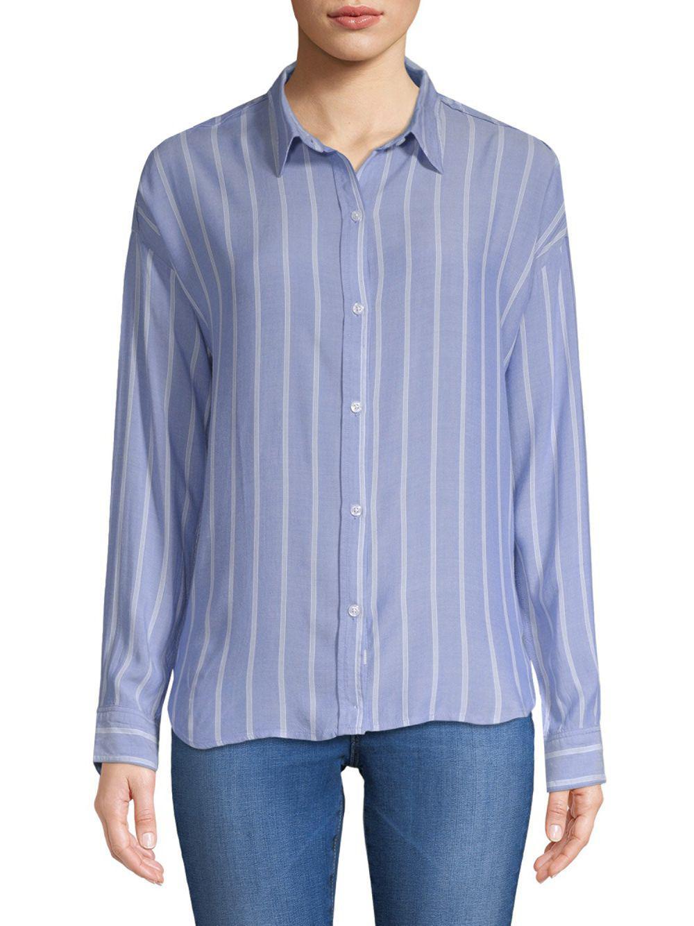 86814afce929c3 Lyst - Rails Josephine Button-down Shirt in Blue - Save 43%