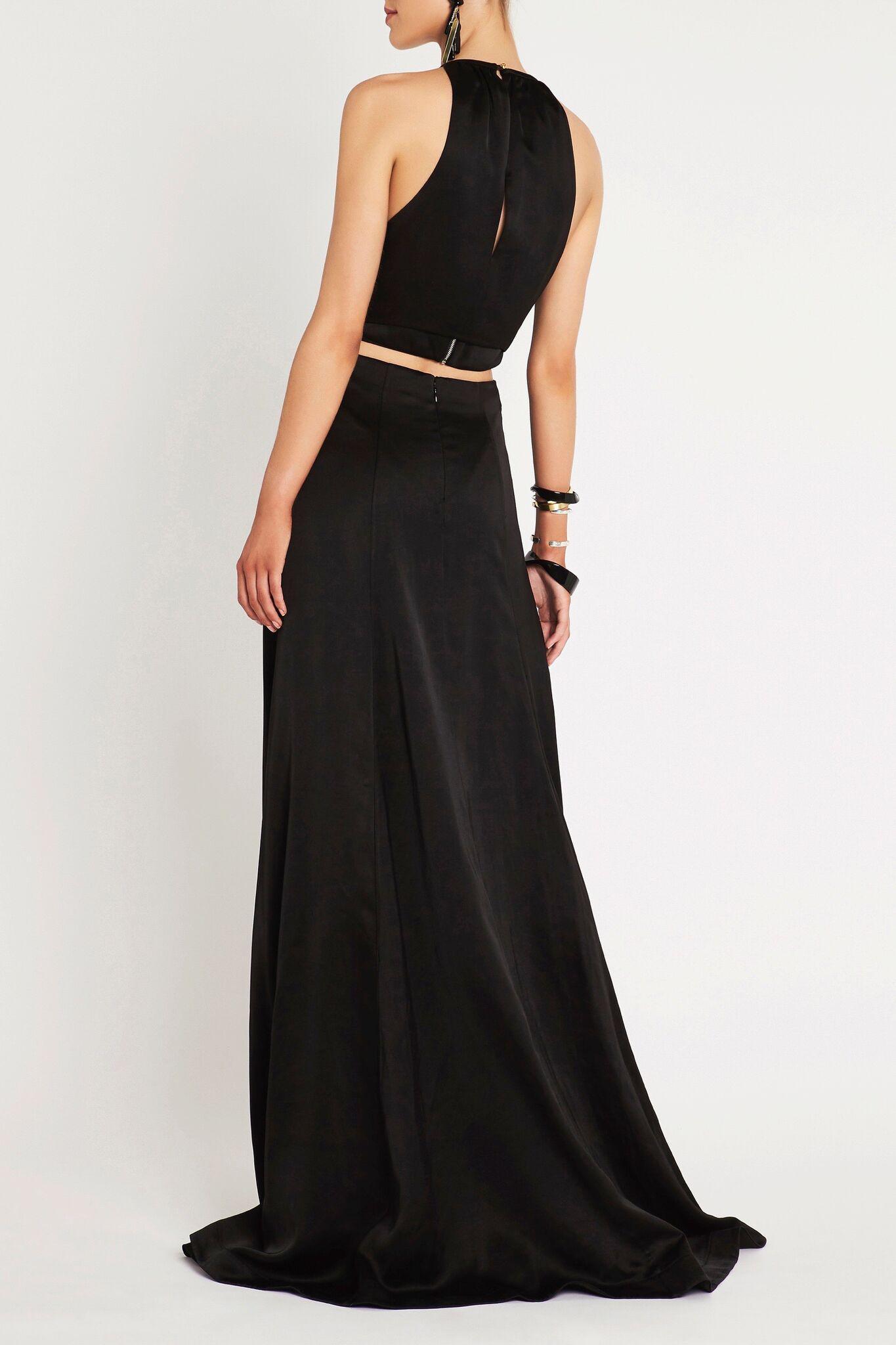 Lyst Sass Bide White Keys Maxi Dress In Black