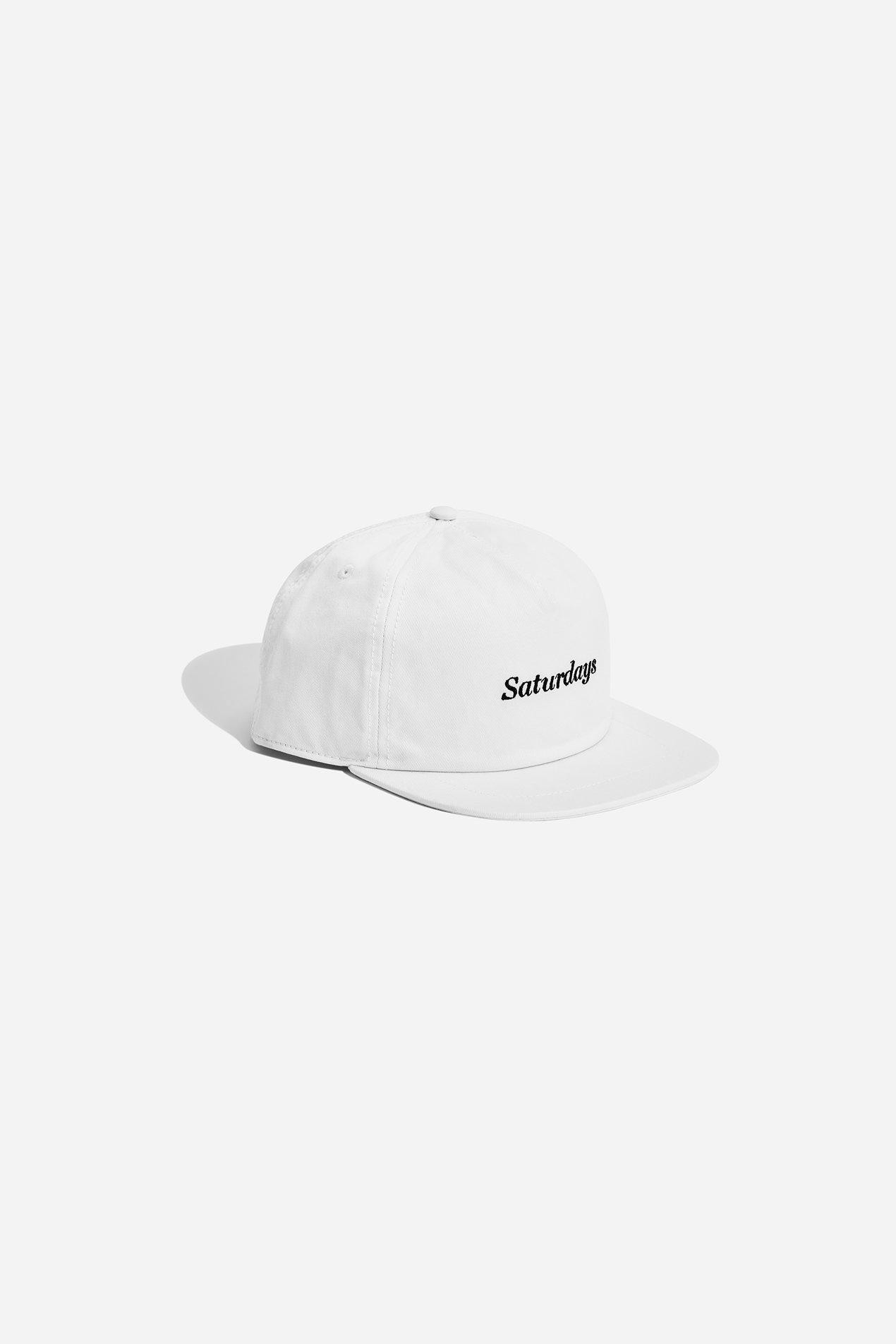 Lyst - Saturdays NYC Stanley Italics Hat in White for Men e6e27688c